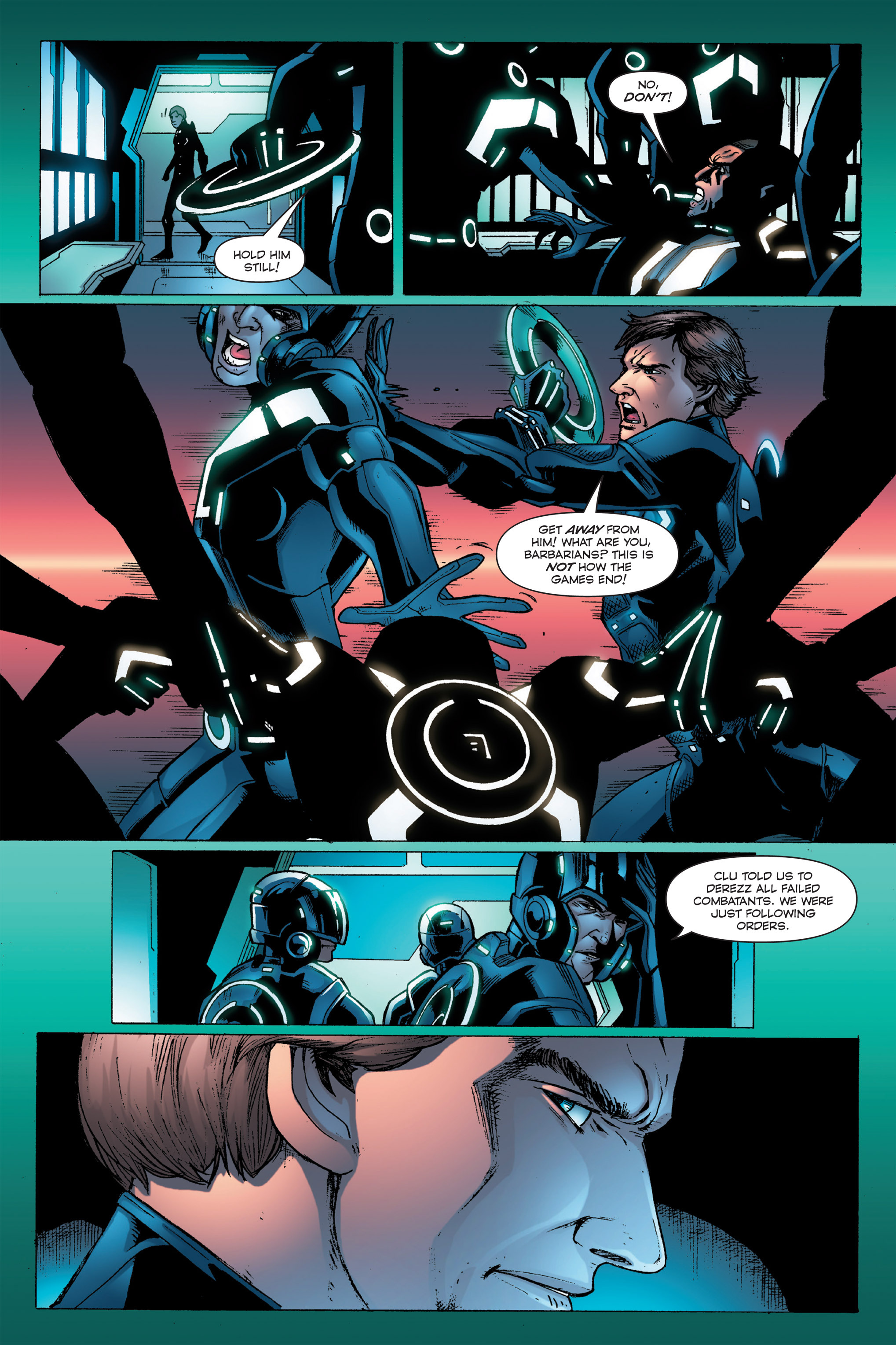 Read online TRON: Betrayal comic -  Issue # TPB - 83