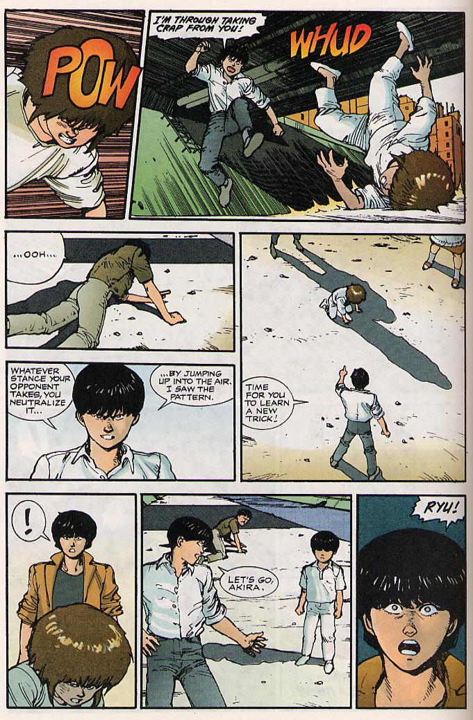 Read online Akira comic -  Issue #15 - 53