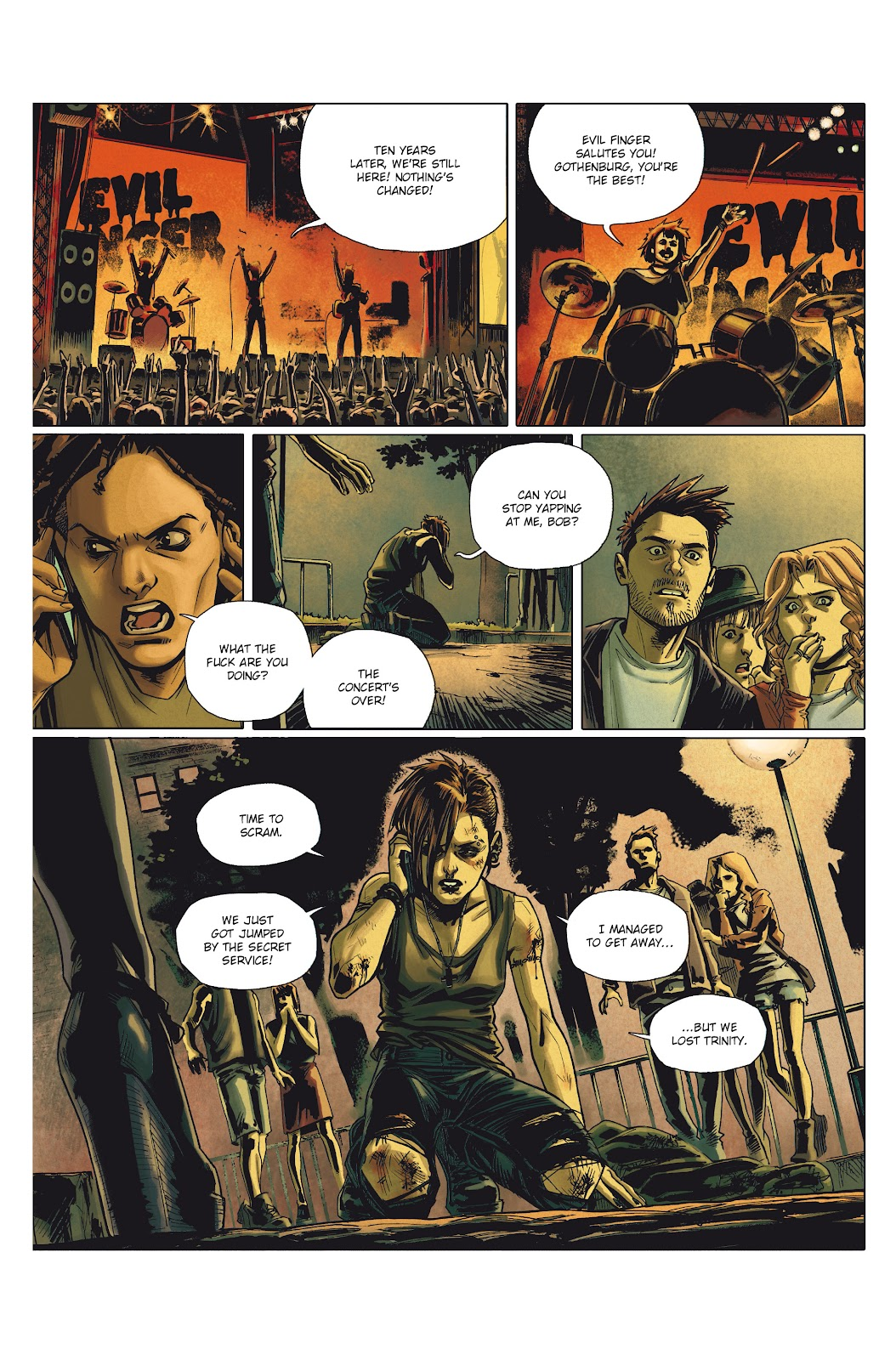 Read online Millennium: The Girl Who Danced With Death comic -  Issue #1 - 8