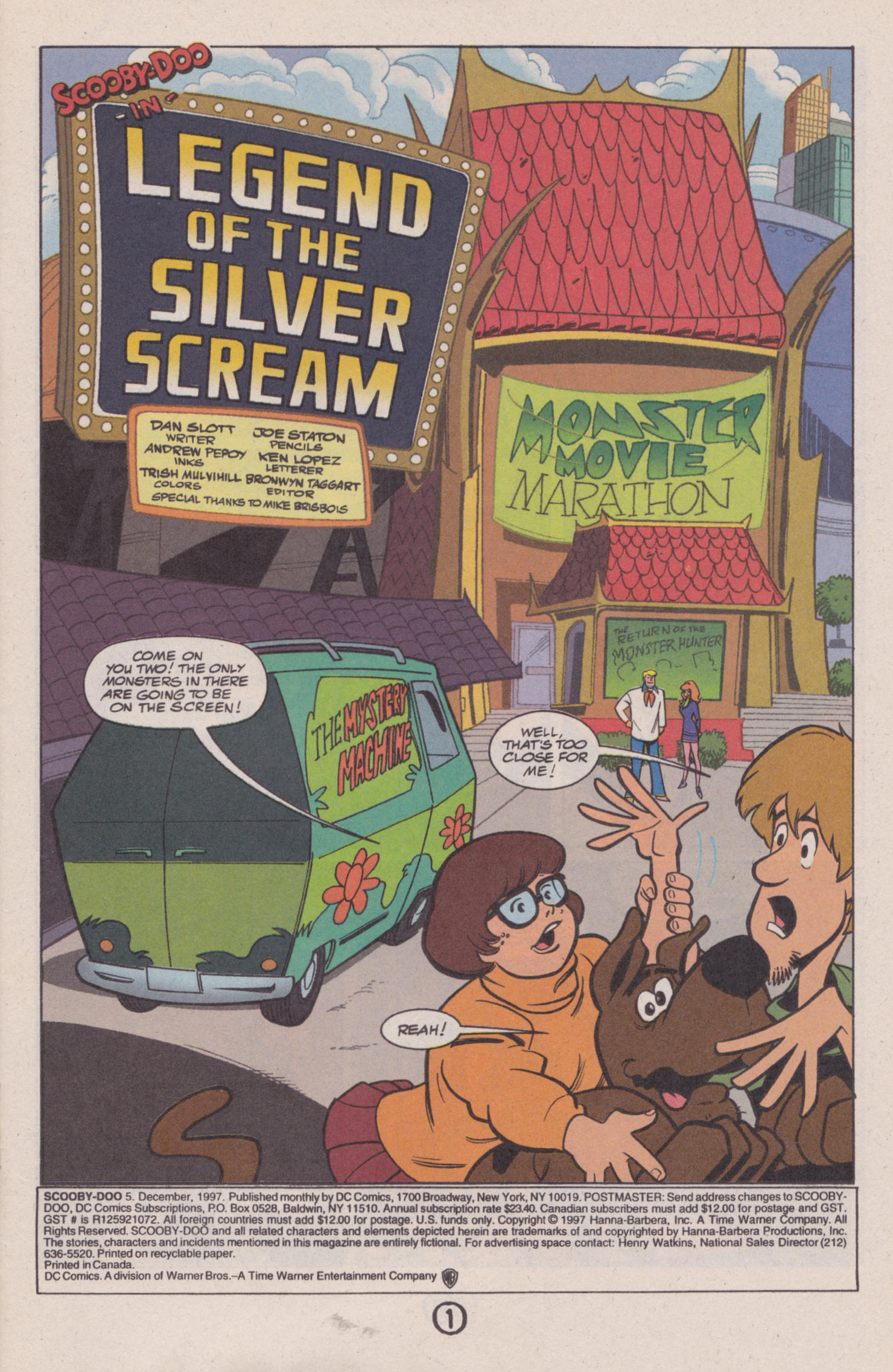Read online Scooby-Doo (1997) comic -  Issue #5 - 2