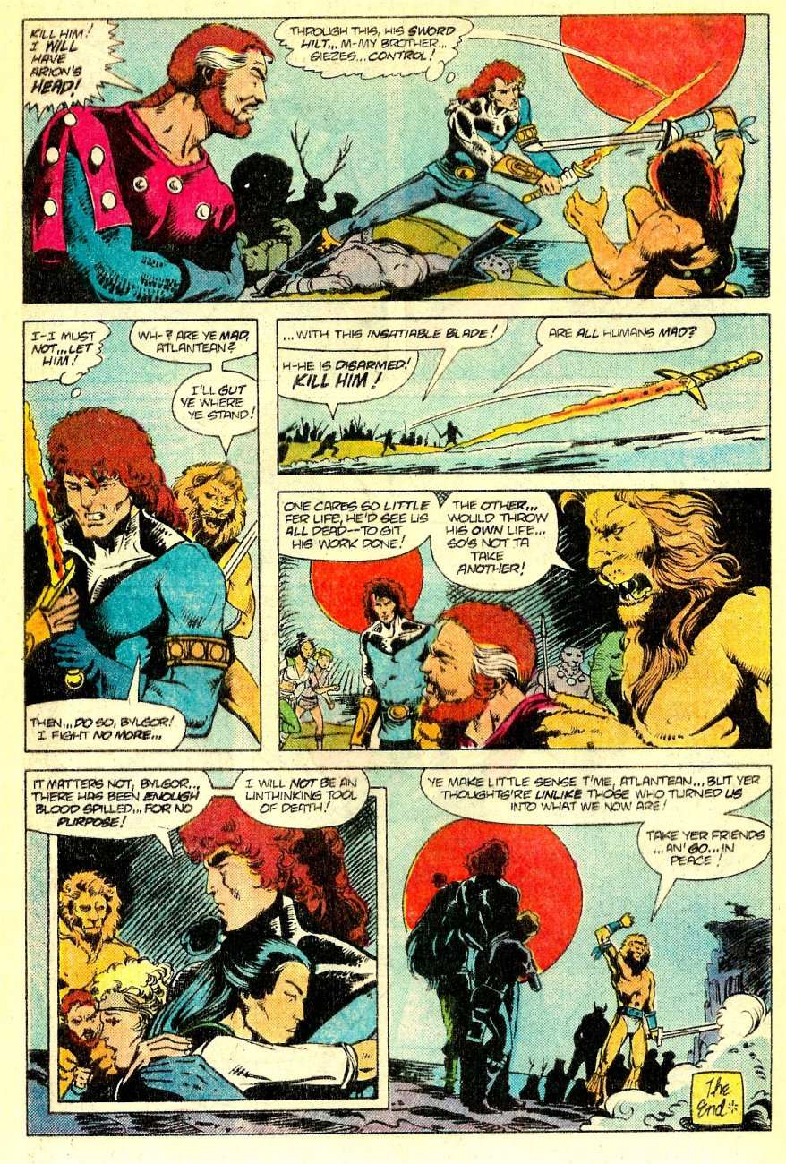 Read online Arion, Lord of Atlantis comic -  Issue #16 - 24