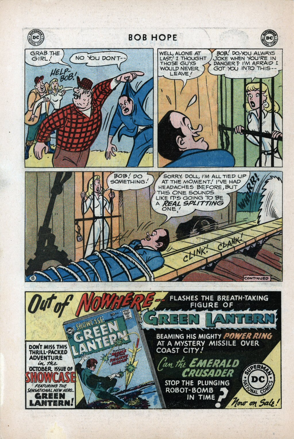 The Adventures of Bob Hope issue 59 - Page 22