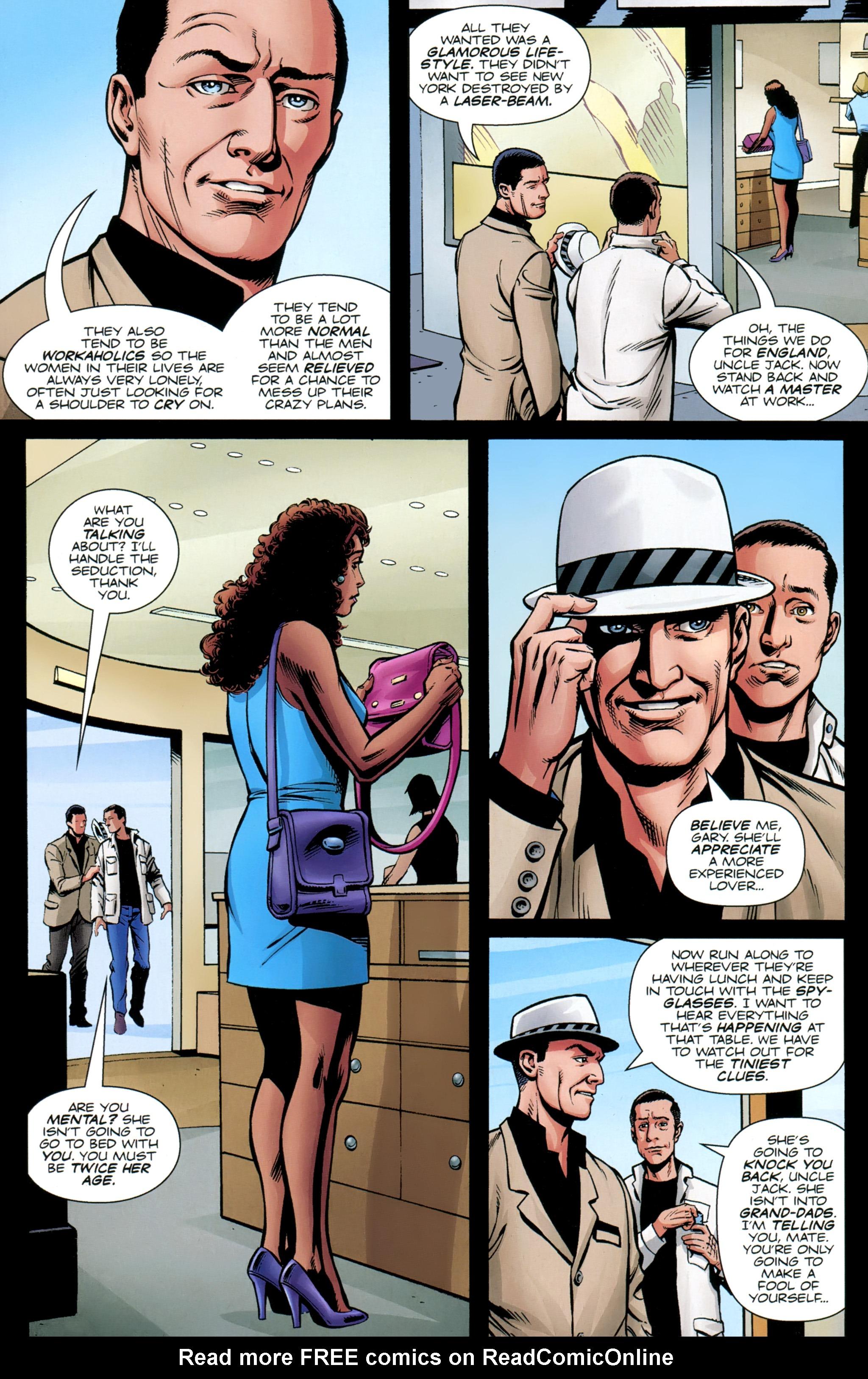 Read online Secret Service comic -  Issue #5 - 17
