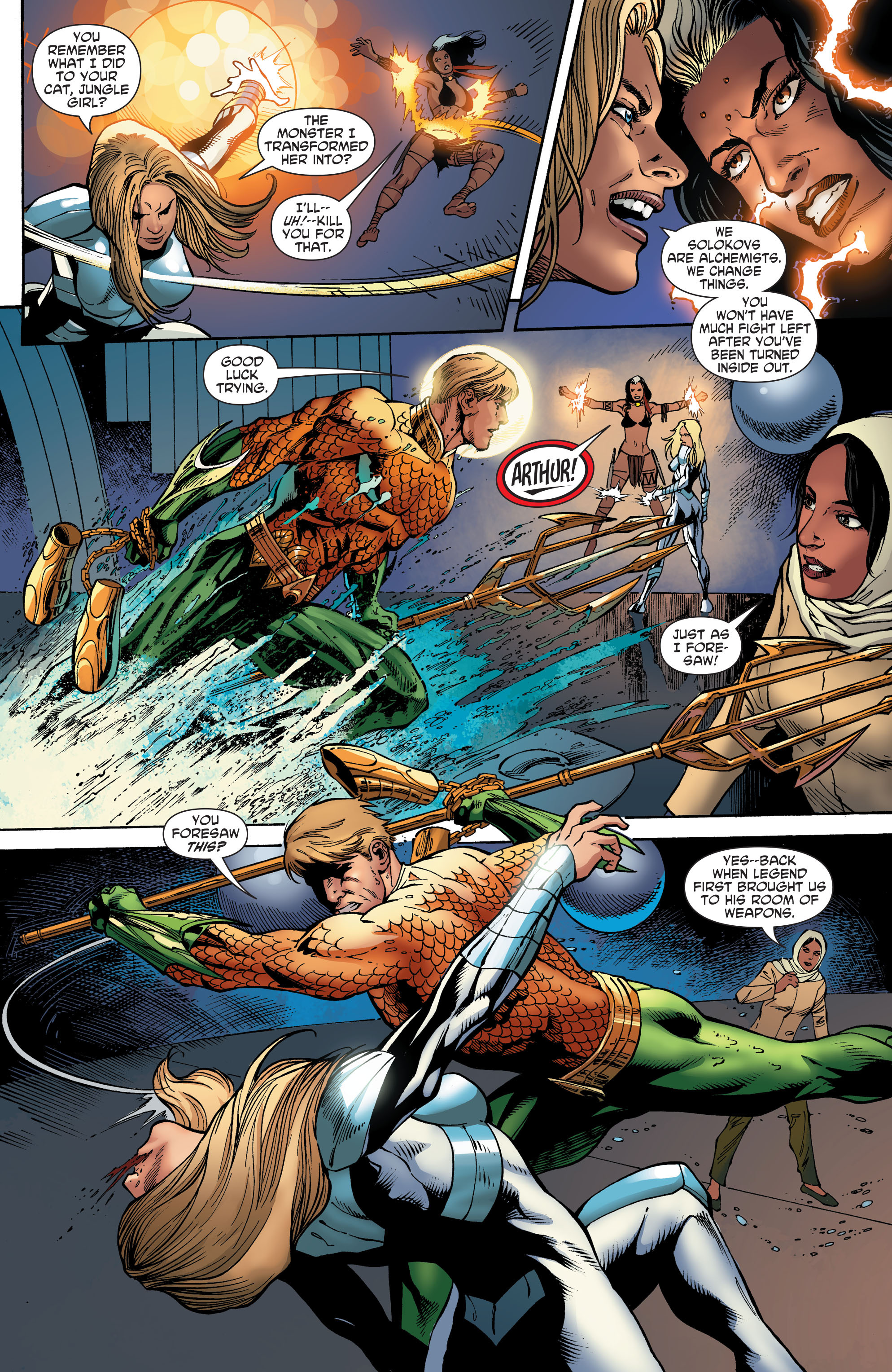Read online Aquaman and the Others comic -  Issue #5 - 14