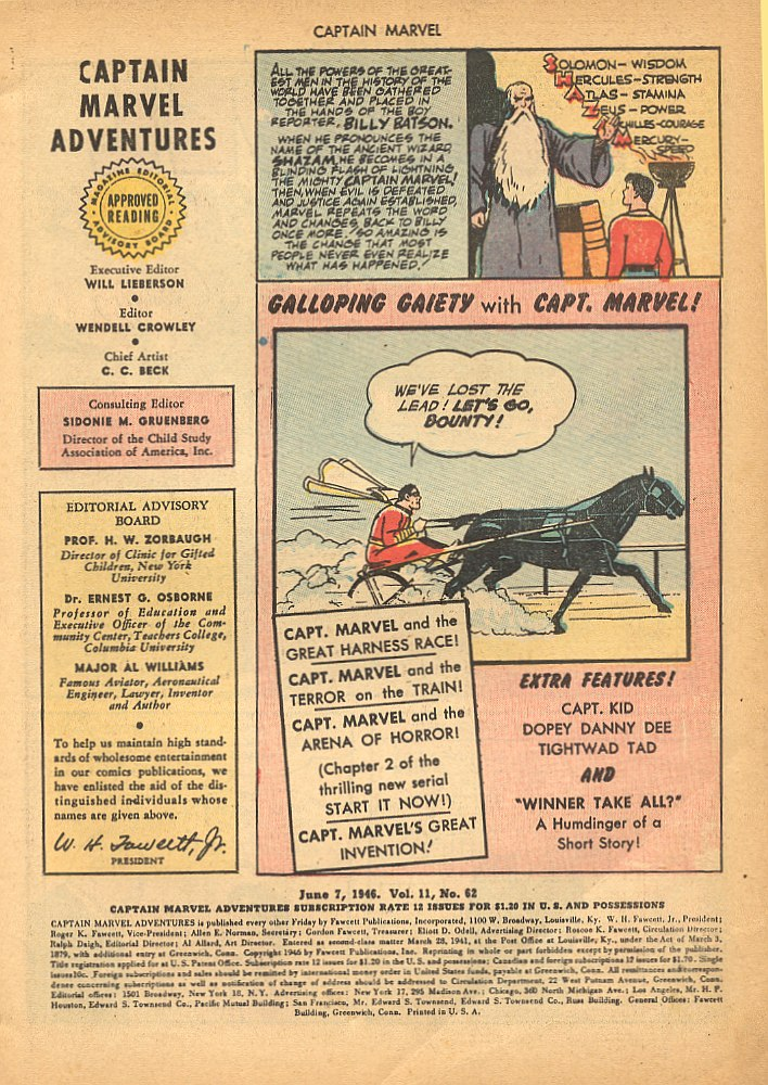 Captain Marvel Adventures issue 62 - Page 3