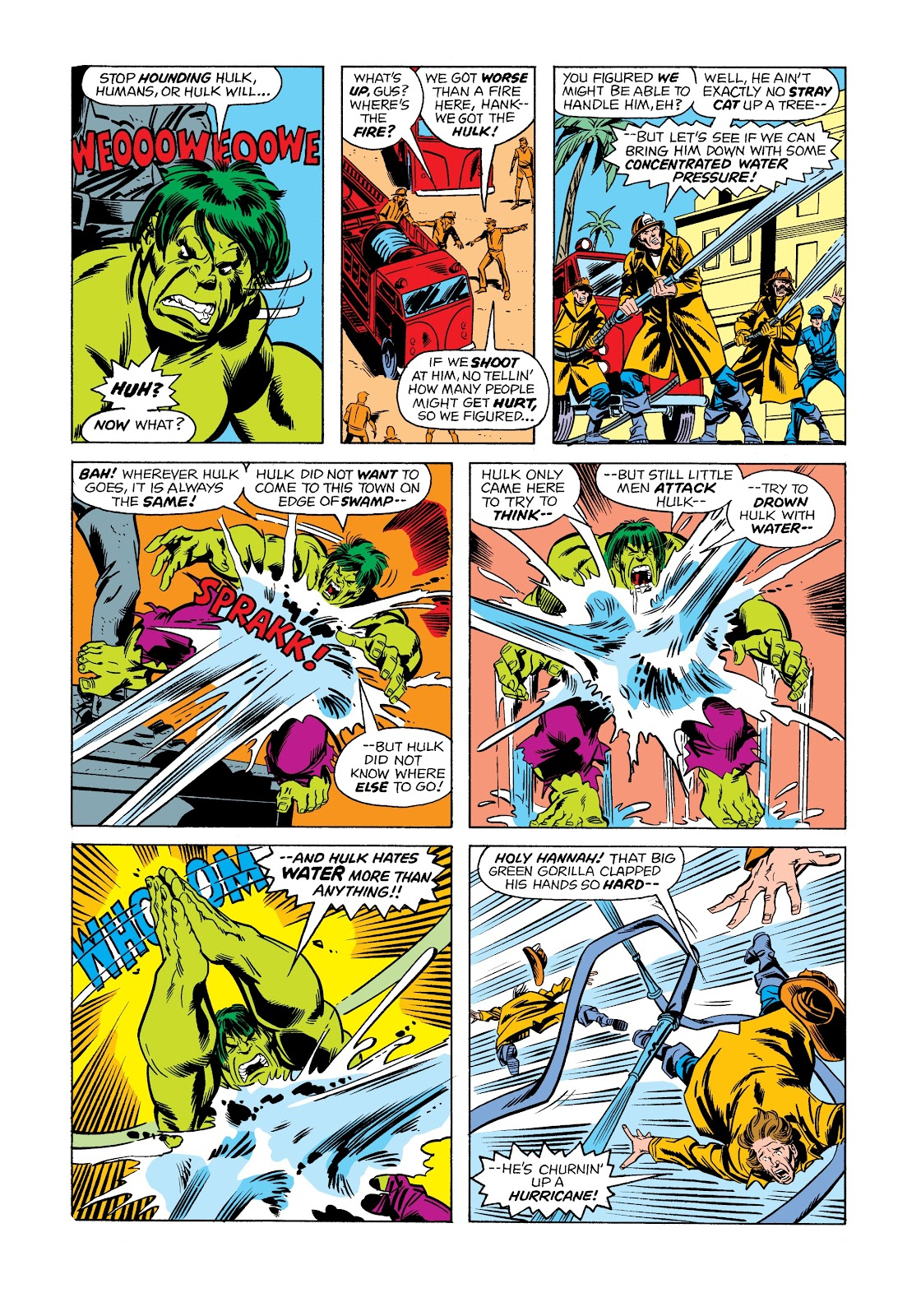Read online Marvel Masterworks: The Incredible Hulk comic -  Issue # TPB 12 (Part 1) - 84