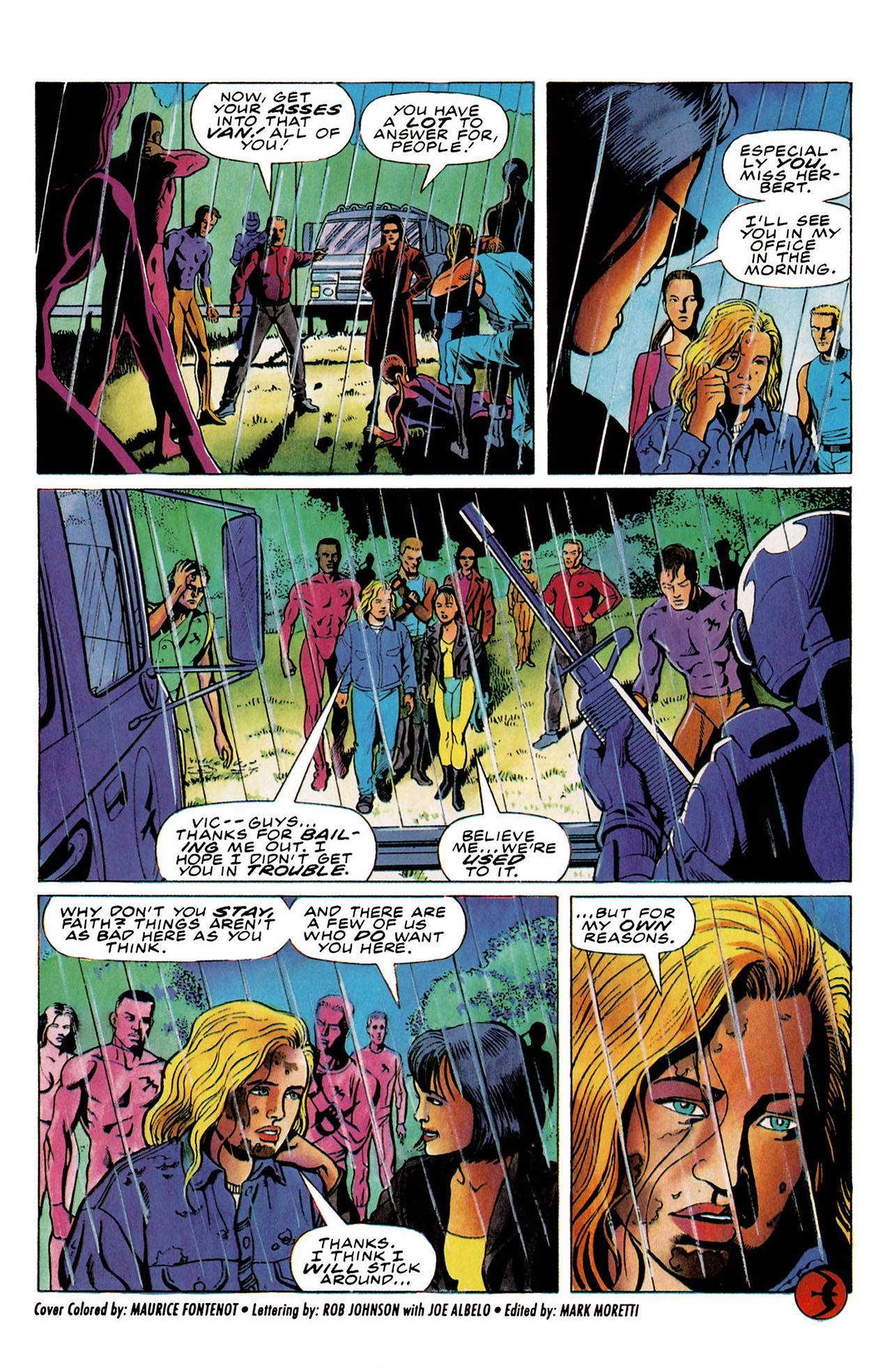 Read online Harbinger (1992) comic -  Issue #26 - 25