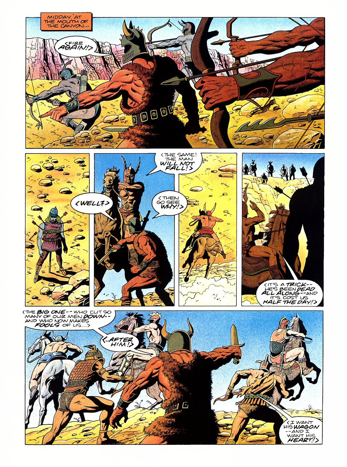 Read online Marvel Graphic Novel: Conan the Barbarian: The Skull of Set comic -  Issue # Full - 19