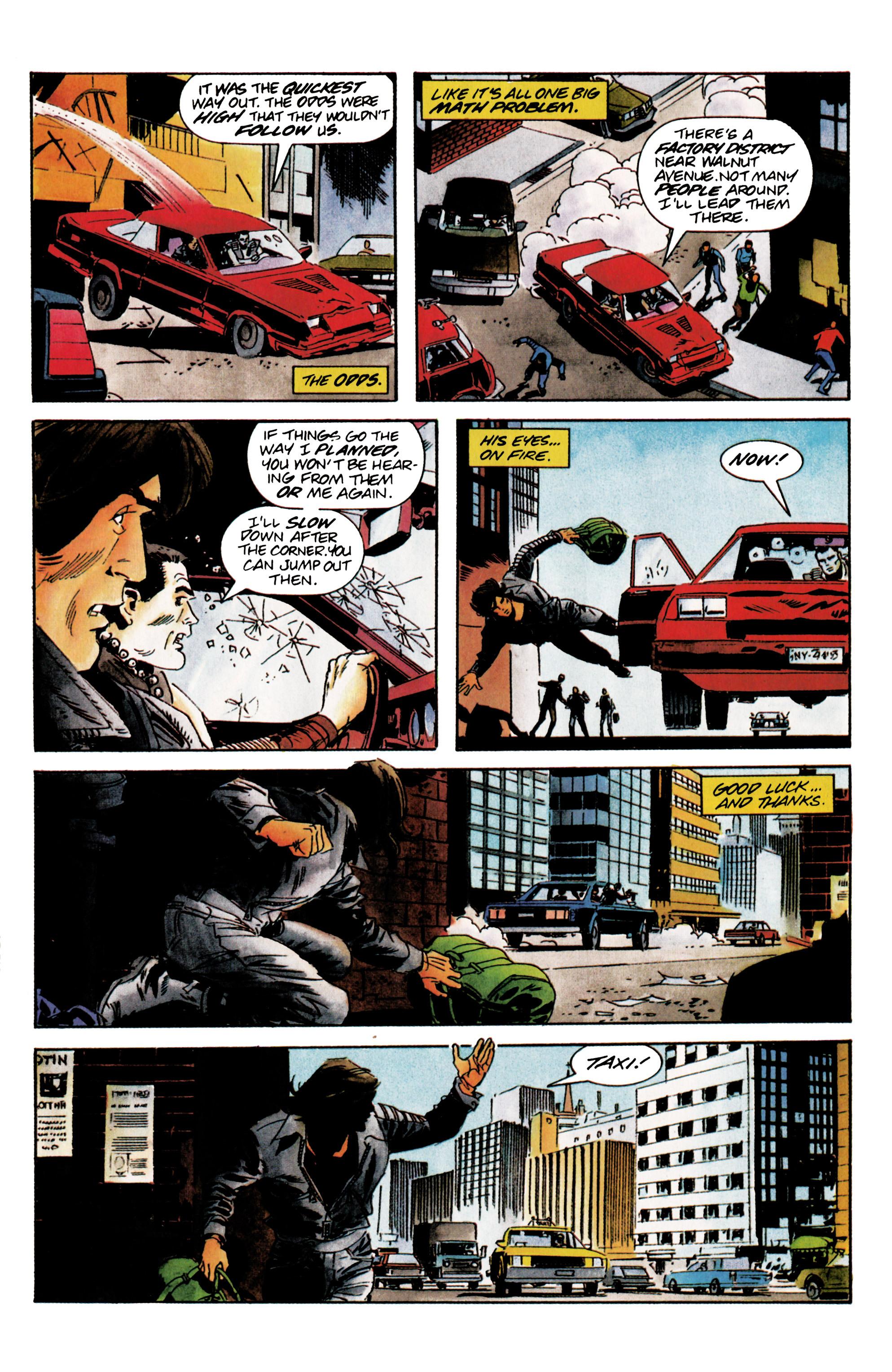 Read online Eternal Warrior (1992) comic -  Issue #5 - 9