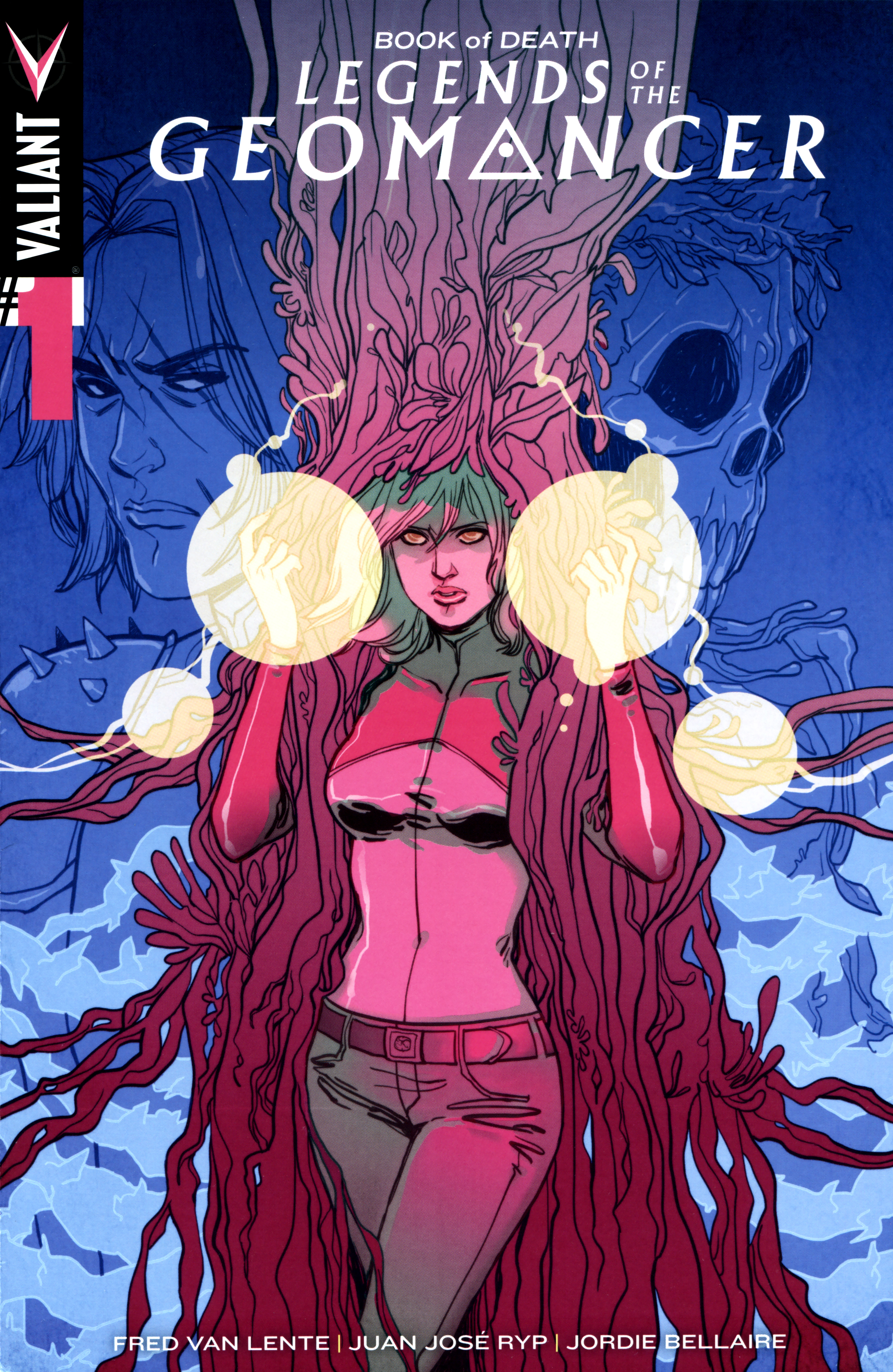 Book of Death Legends of the Geomancer Issue 1