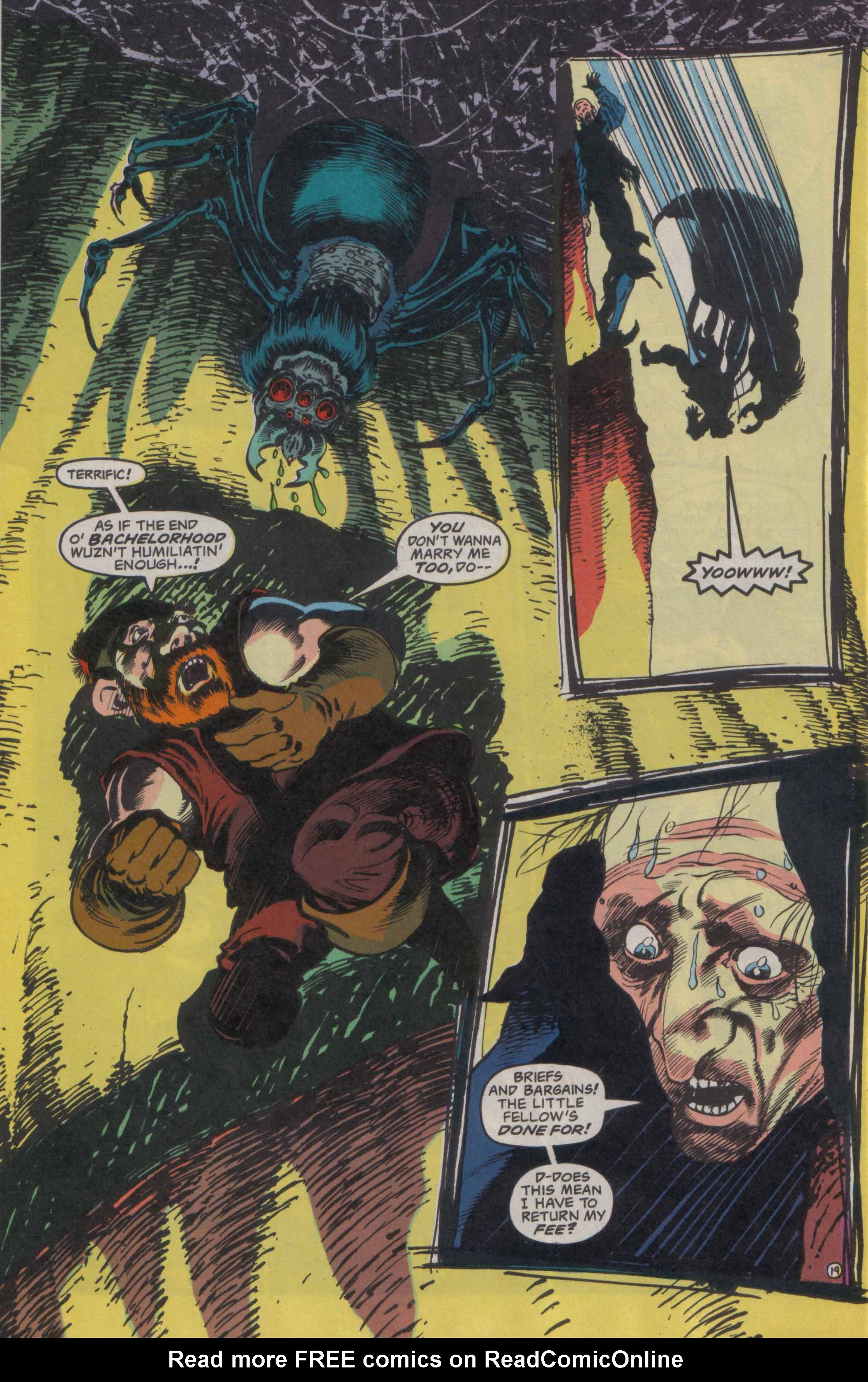 Read online Advanced Dungeons & Dragons comic -  Issue #23 - 20