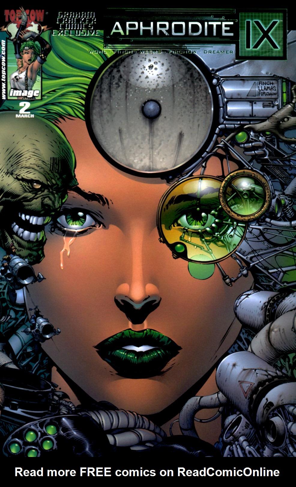 Read online Aphrodite IX (2000) comic -  Issue #2 - 2