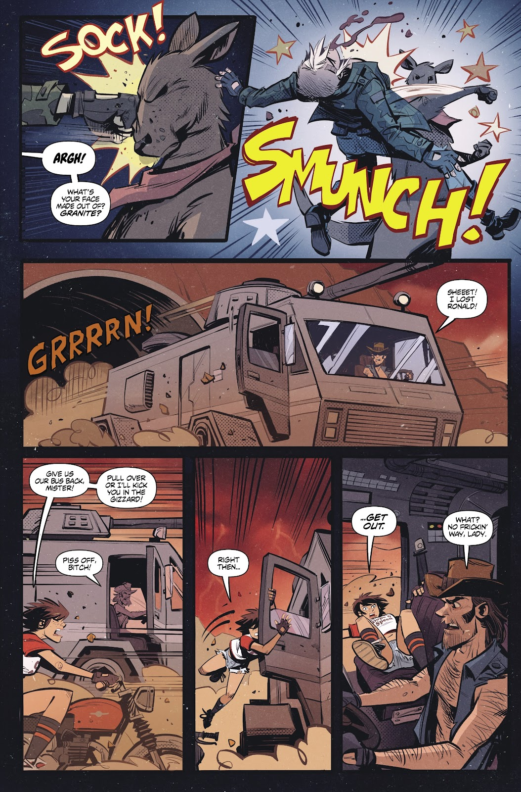 Read online Tank Girl Ongoing comic -  Issue #2 - 7