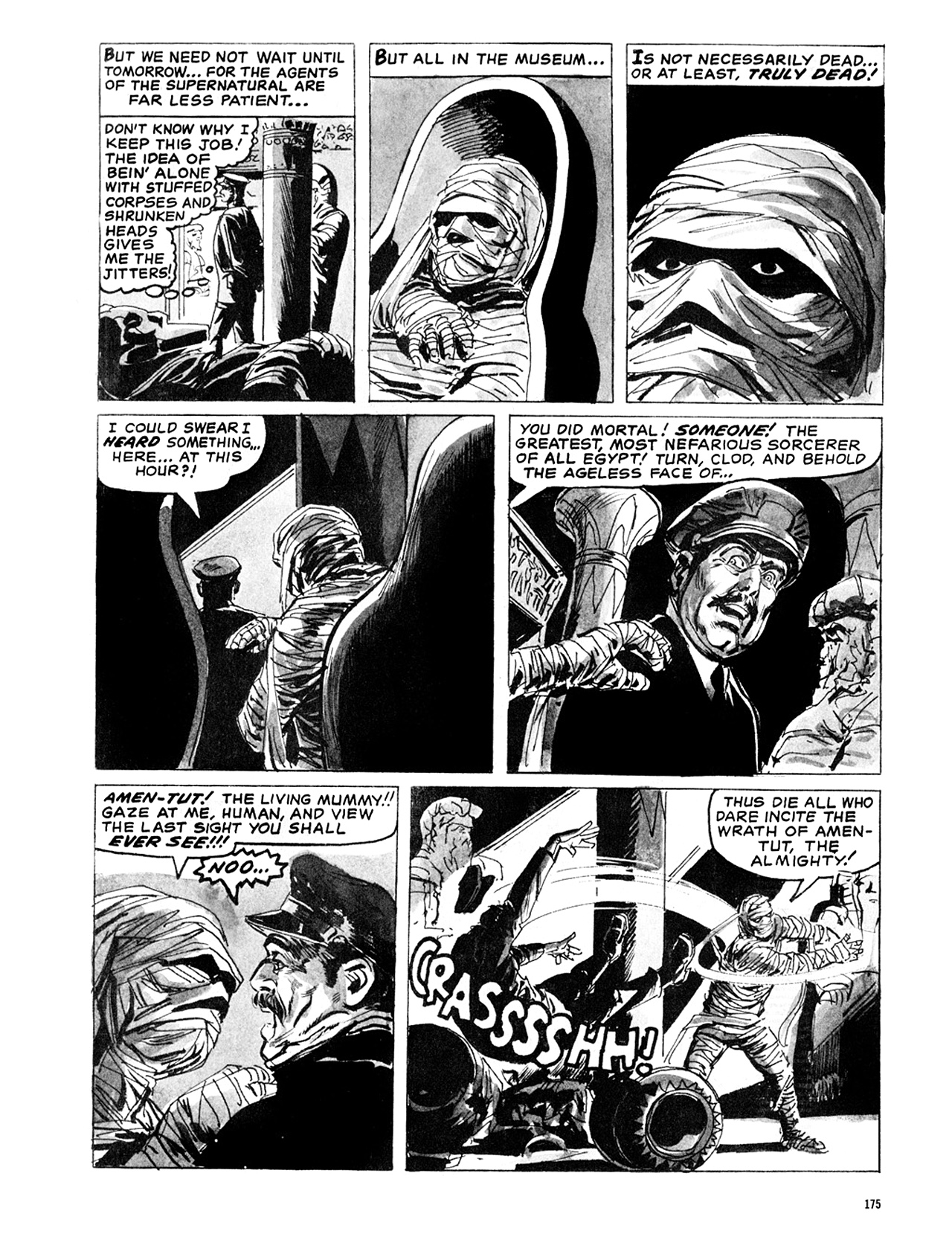 Read online Eerie Archives comic -  Issue # TPB 6 - 175