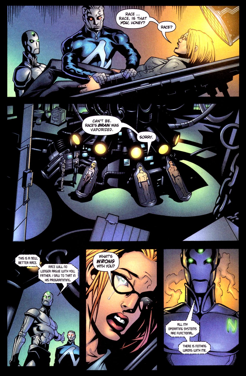 Read online Noble Causes (2002) comic -  Issue #4 - 8
