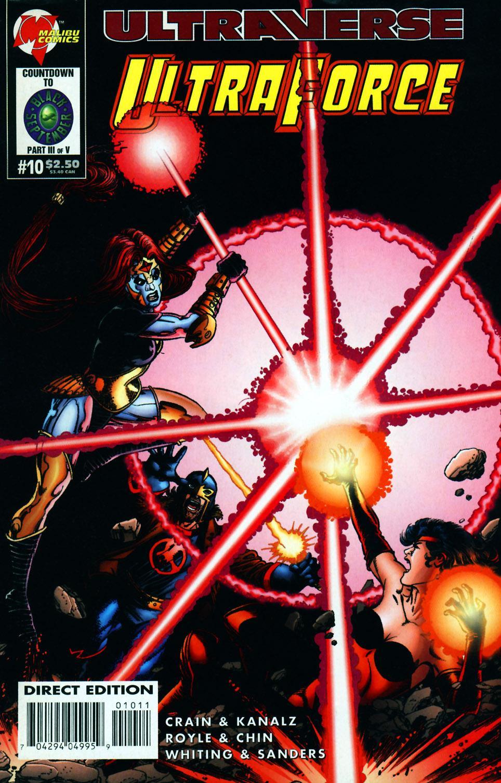 Read online UltraForce (1994) comic -  Issue #10 - 1