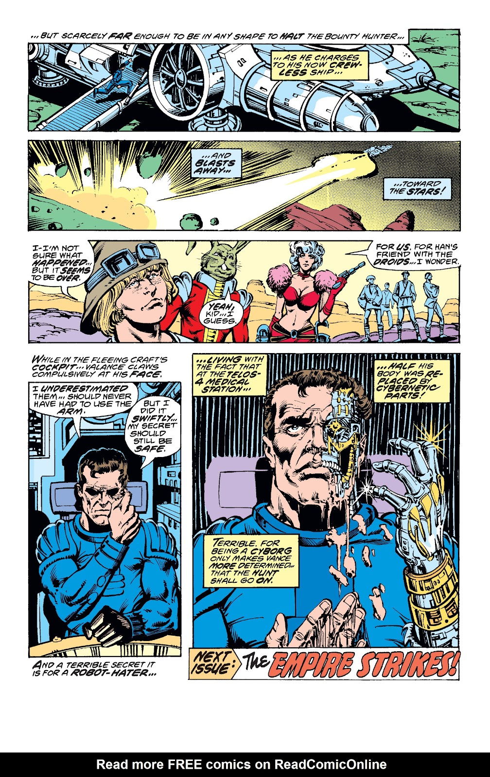 Read online Star Wars Legends: The Original Marvel Years - Epic Collection comic -  Issue # TPB 1 (Part 3) - 96