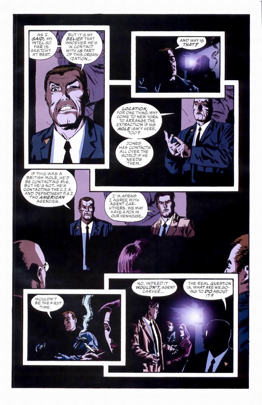 Read online Sleeper comic -  Issue #8 - 11