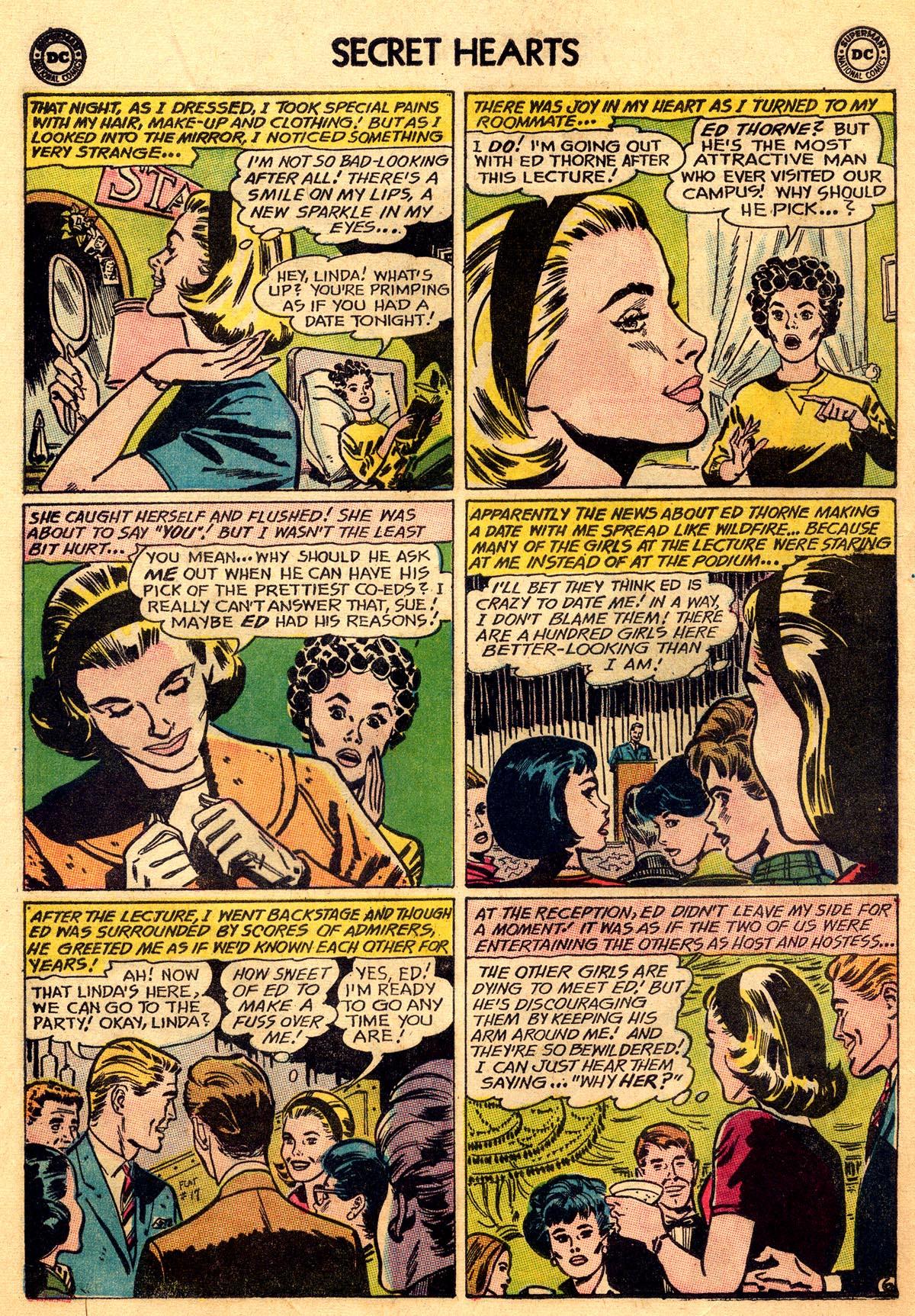 Read online Secret Hearts comic -  Issue #93 - 8