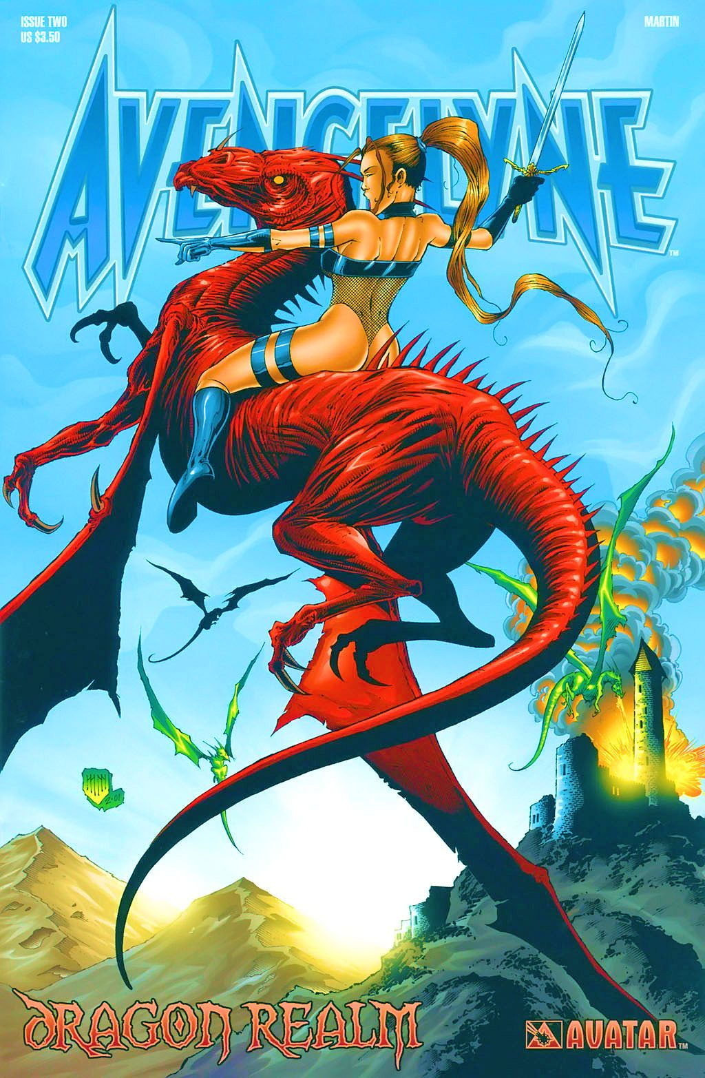 Read online Avengelyne: Dragon Realm comic -  Issue #2 - 2