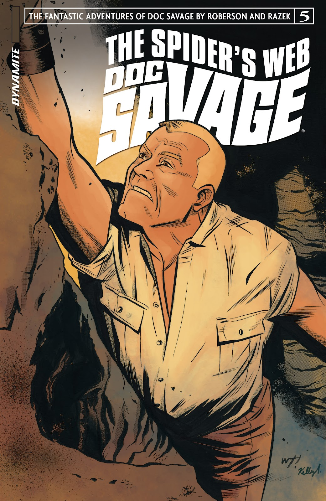 Doc Savage: The Spiders Web issue 5 - Page 1