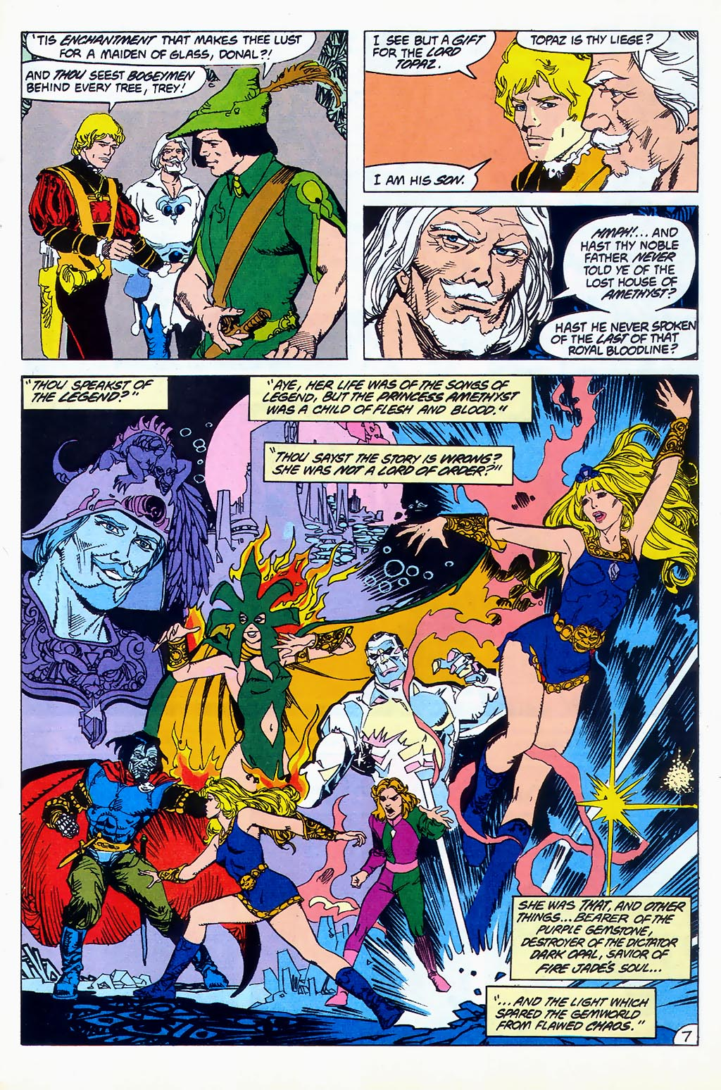 Read online Amethyst (1987) comic -  Issue #1 - 8