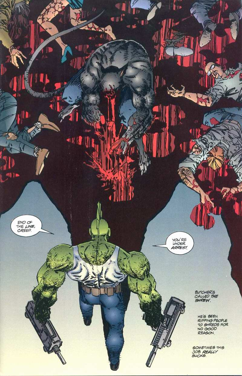 The Savage Dragon (1993) Issue #1 #3 - English 3