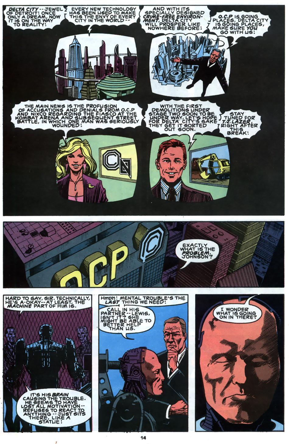 Read online Robocop (1990) comic -  Issue #2 - 12