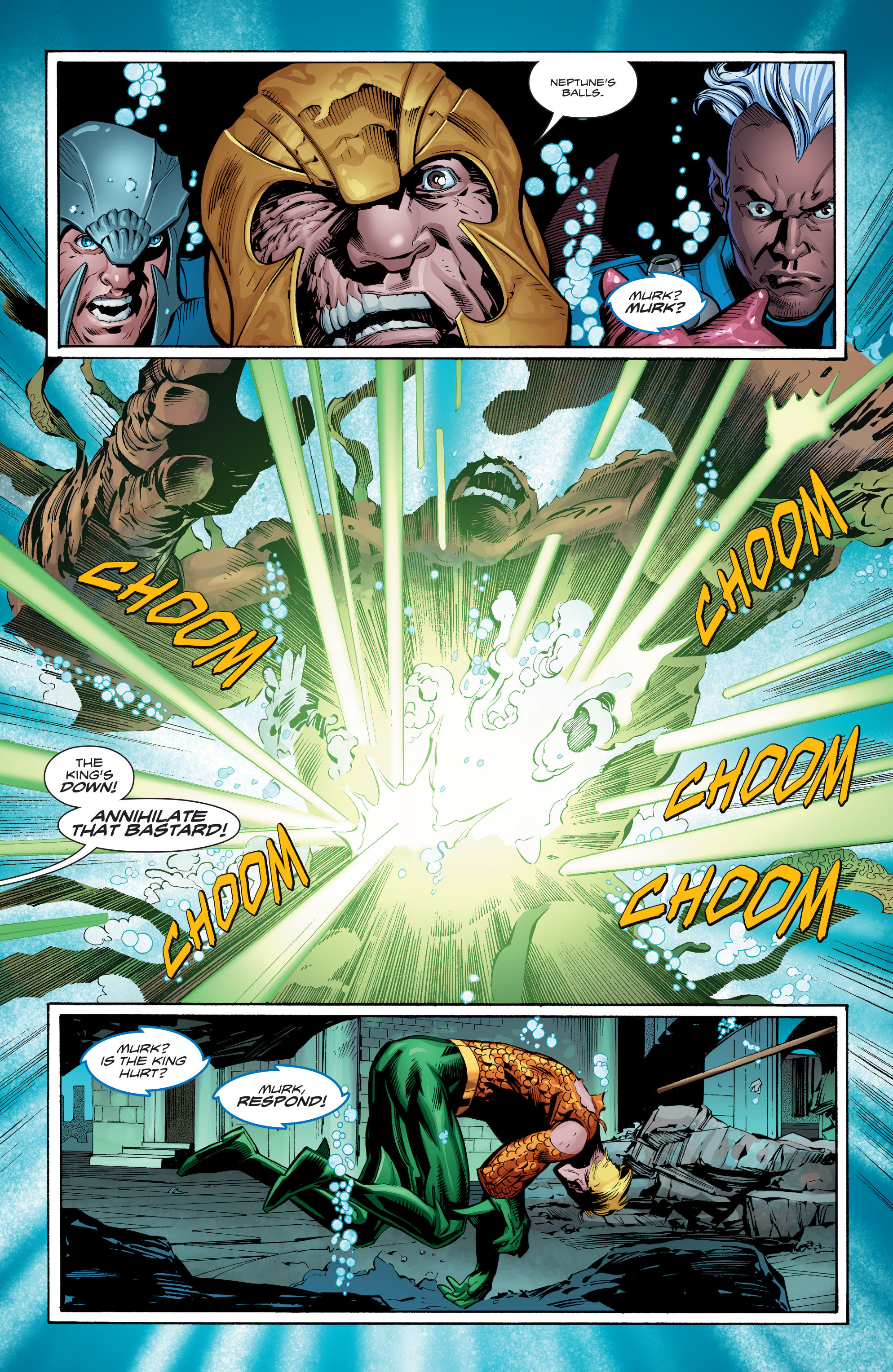 Read online Aquaman (2016) comic -  Issue #8 - 10