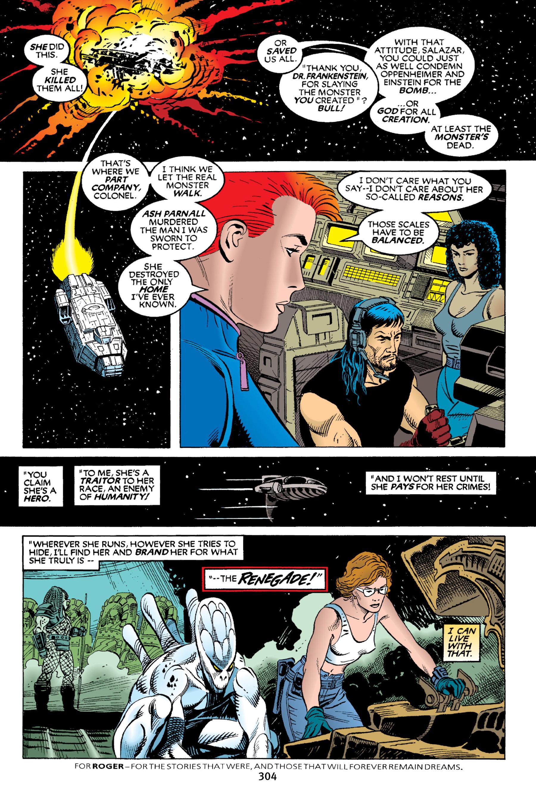 Read online Aliens vs. Predator Omnibus comic -  Issue # _TPB 2 Part 3 - 79