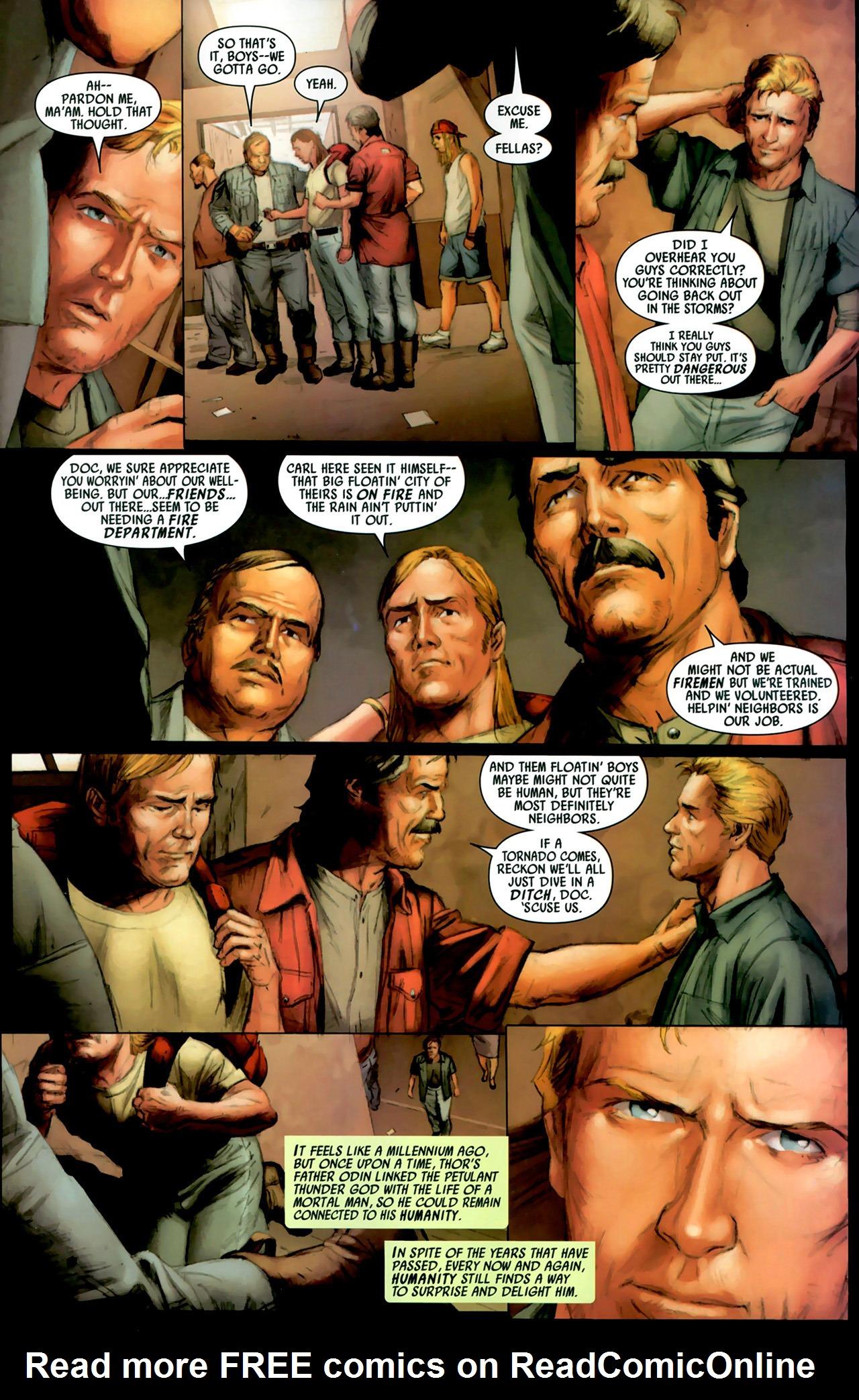 Read online Secret Invasion: Thor comic -  Issue #2 - 7