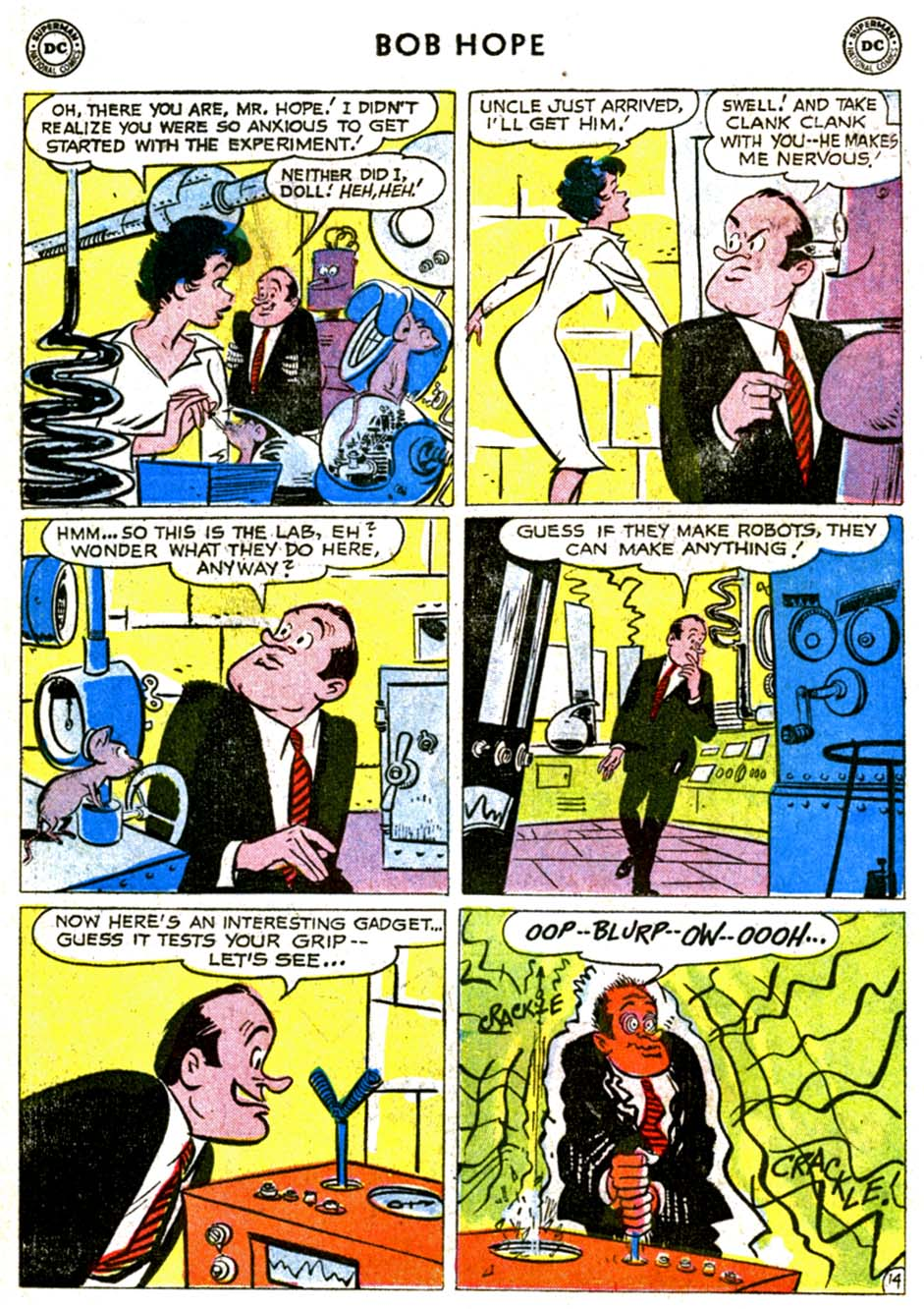 The Adventures of Bob Hope issue 68 - Page 18