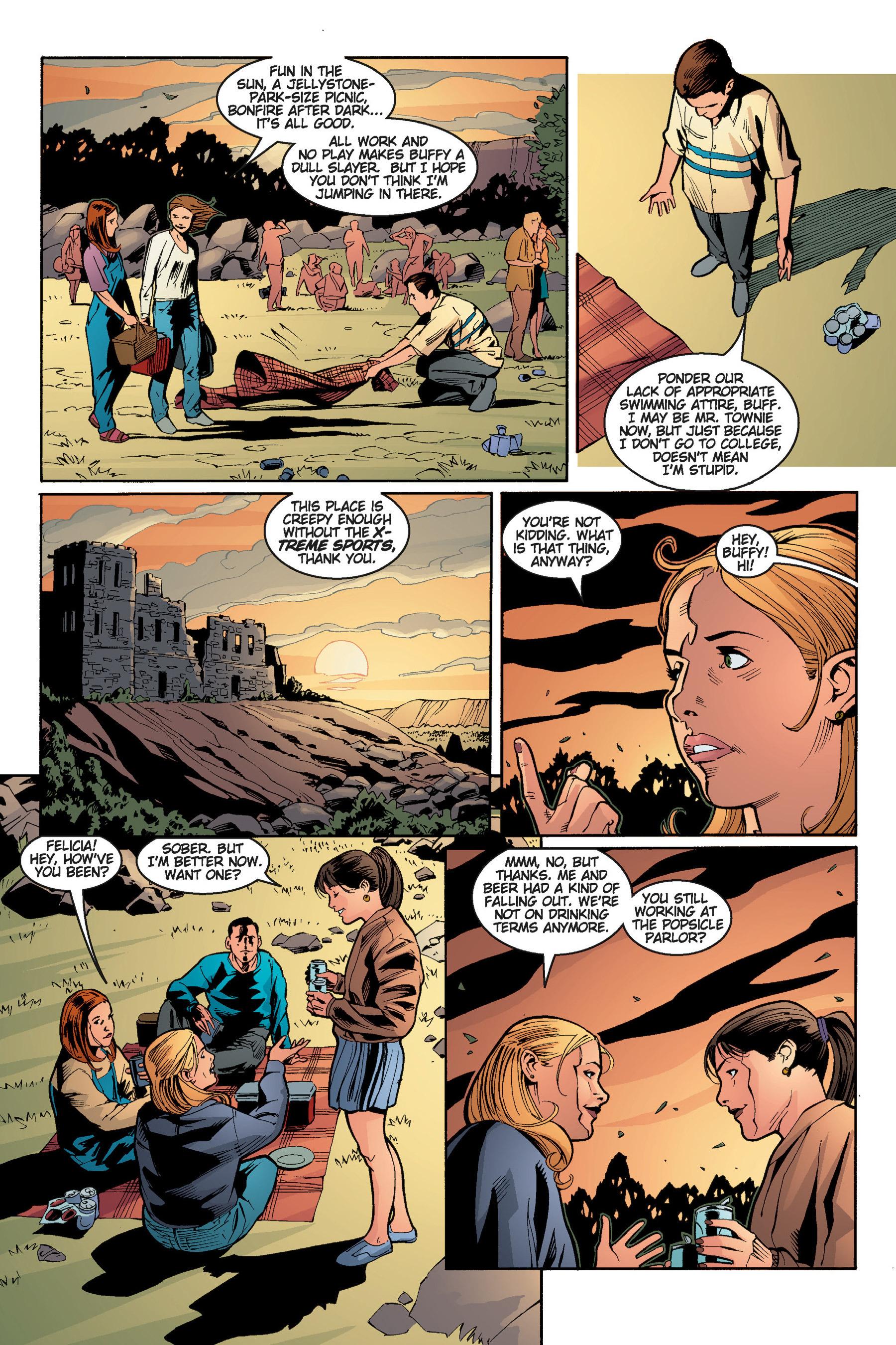 Read online Buffy the Vampire Slayer: Omnibus comic -  Issue # TPB 5 - 121