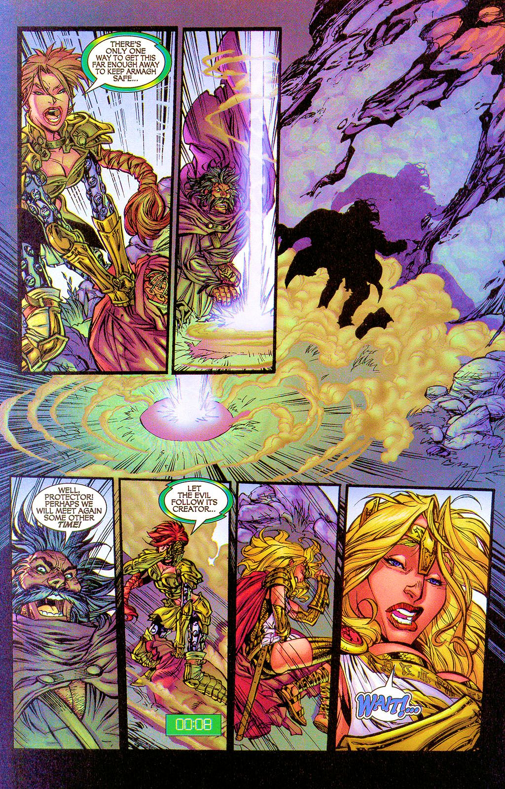 Read online Lady Pendragon / More Than Mortal comic -  Issue #1 - 24
