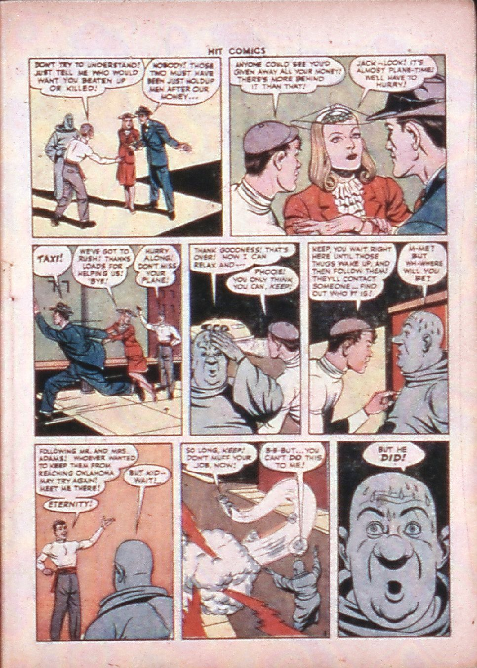 Read online Hit Comics comic -  Issue #33 - 7