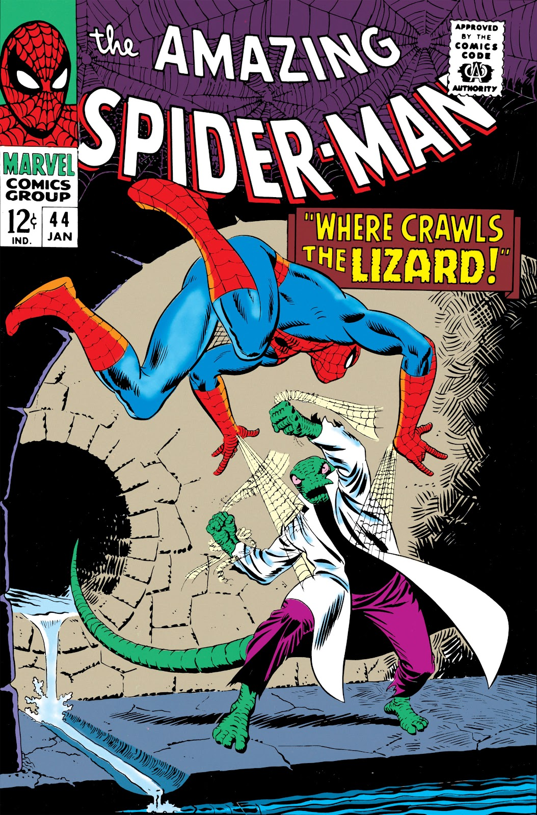The Amazing Spider-Man (1963) 44 Page 1