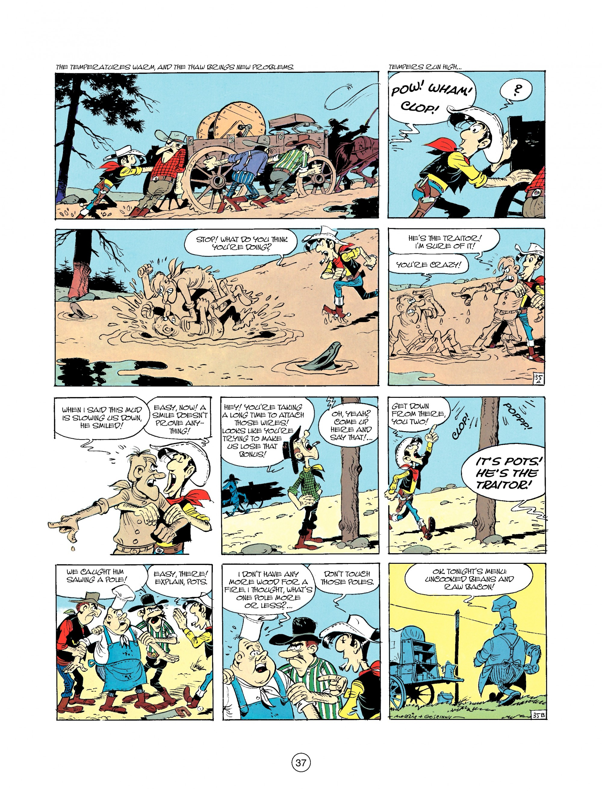 Read online A Lucky Luke Adventure comic -  Issue #35 - 37