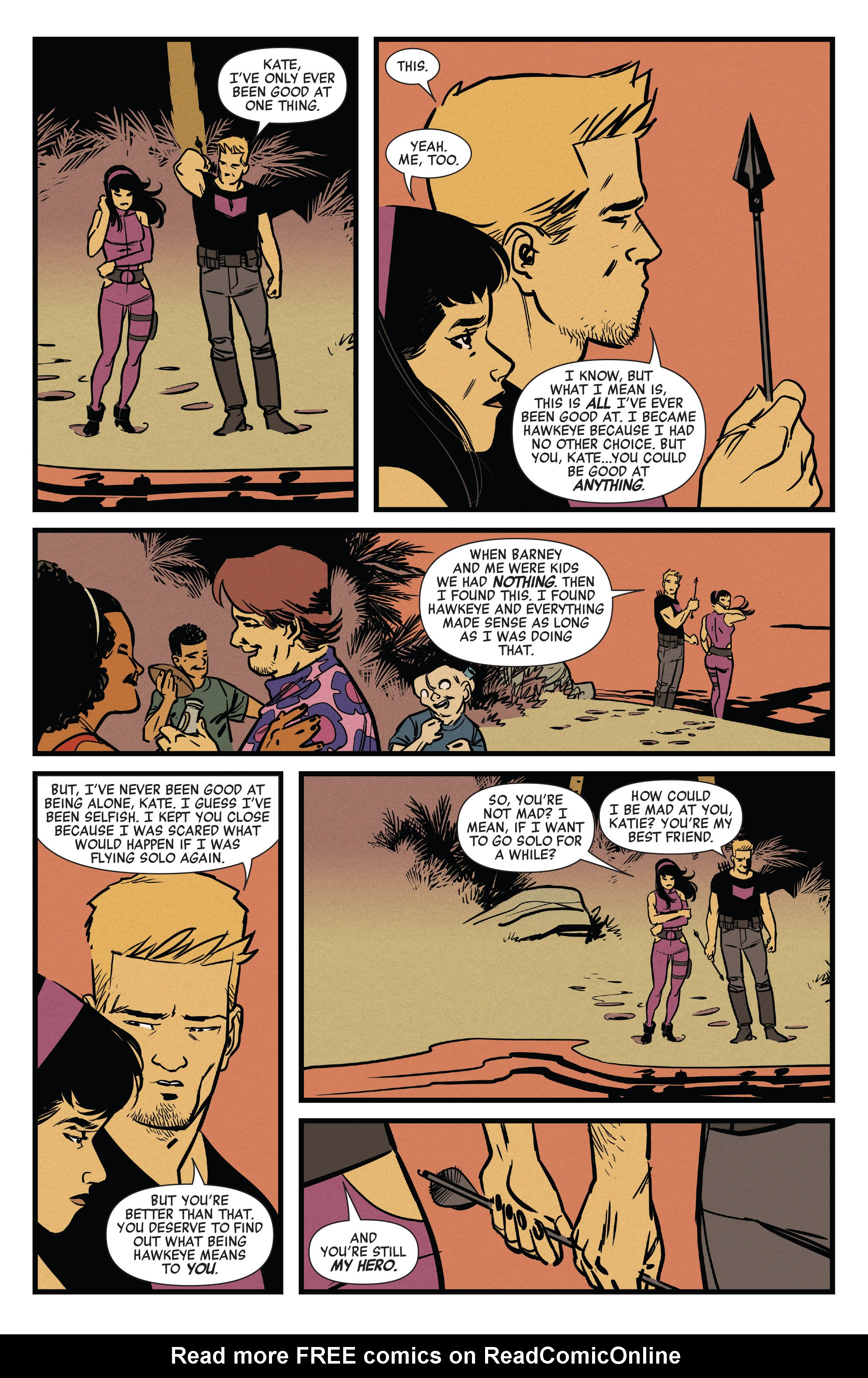 Read online All-New Hawkeye (2016) comic -  Issue #6 - 19