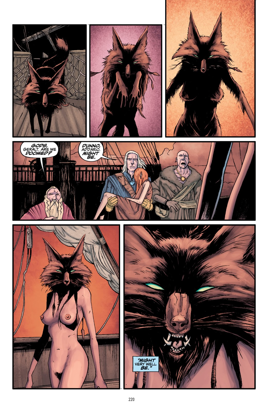 Read online The Witcher Omnibus comic -  Issue # TPB (Part 3) - 23
