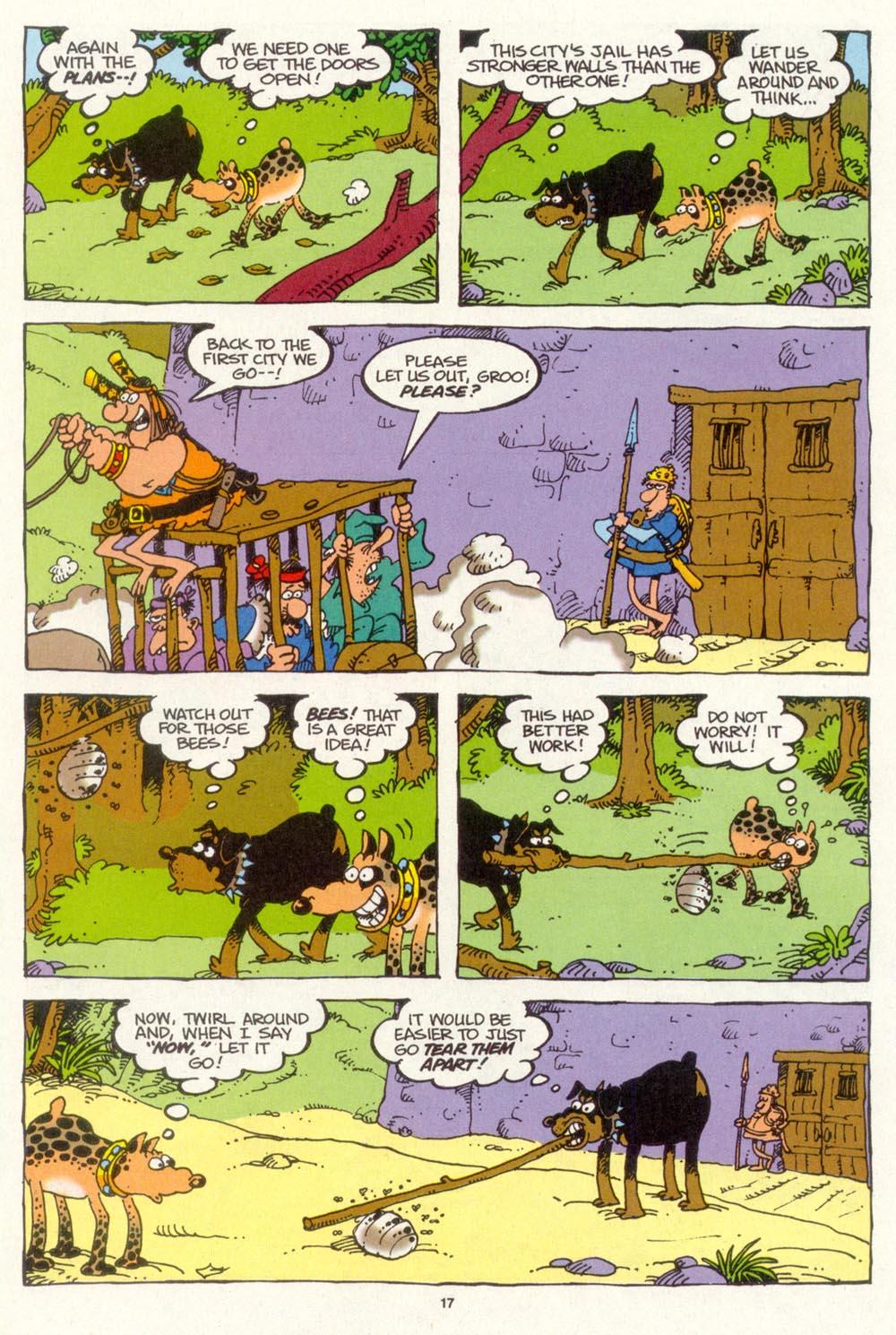 Read online Sergio Aragonés Groo the Wanderer comic -  Issue #103 - 19