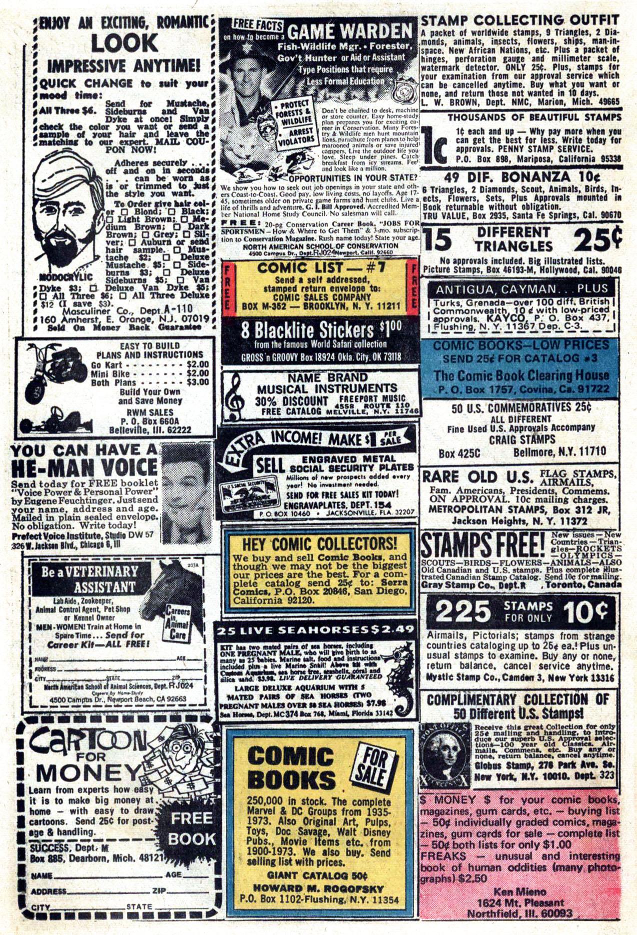 Read online Amazing Adventures (1970) comic -  Issue #24 - 24