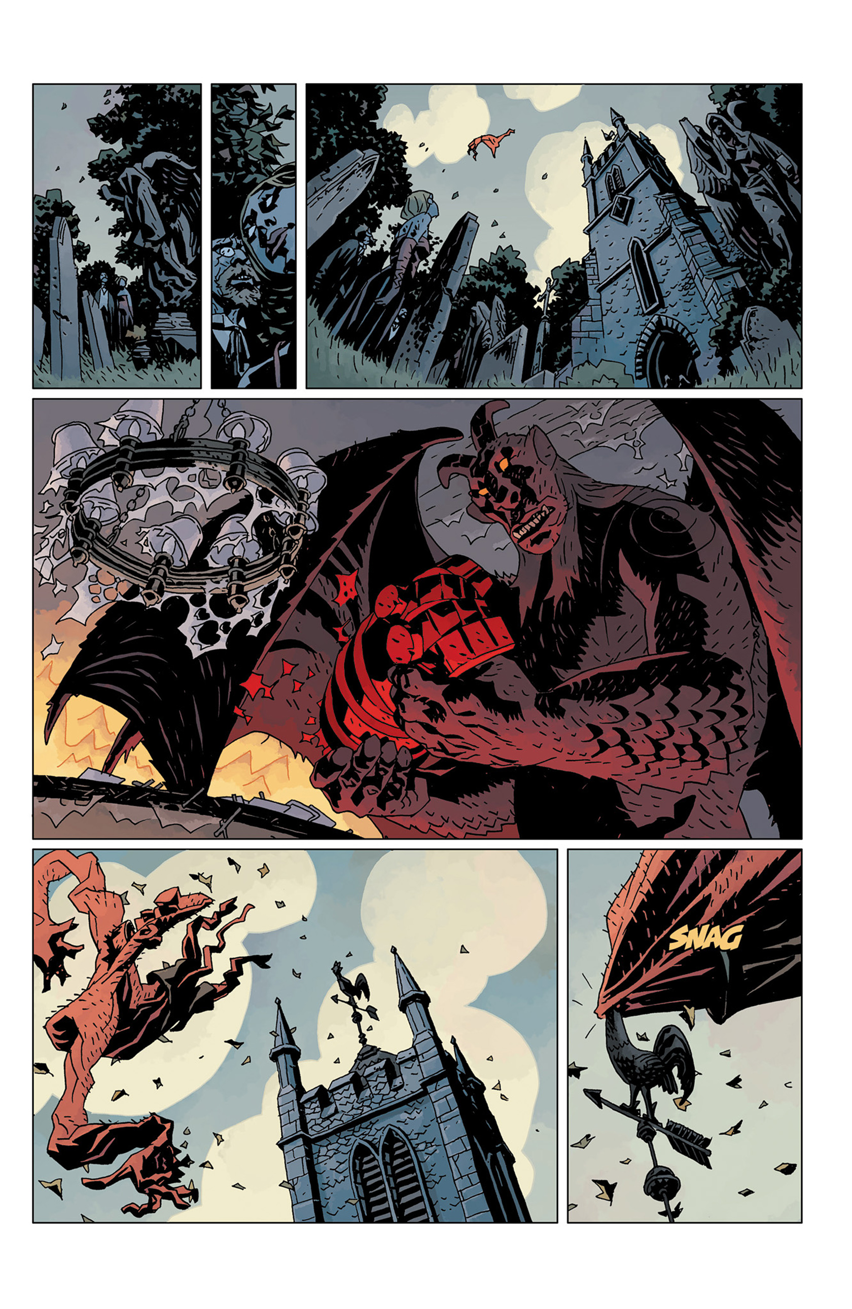 Read online Hellboy: The Crooked Man and Others comic -  Issue # TPB - 141