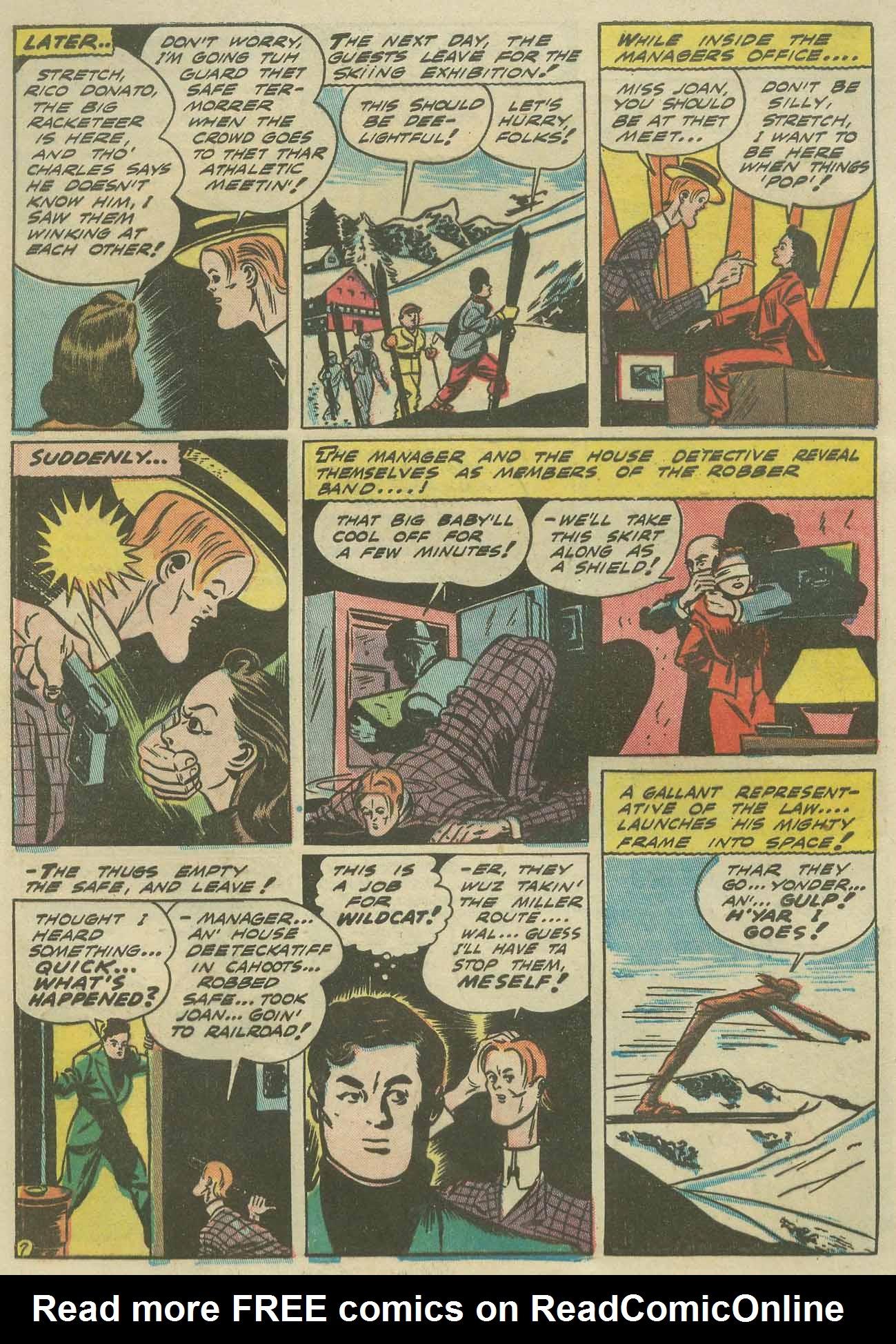 Read online Sensation (Mystery) Comics comic -  Issue #9 - 62