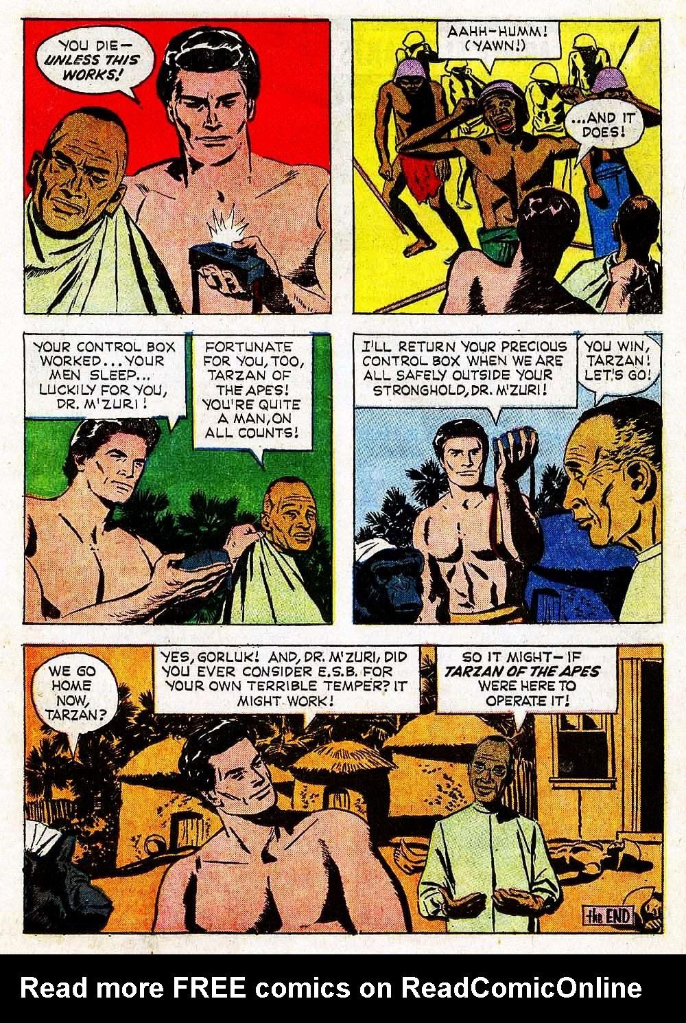 Tarzan (1962) issue 139 - Page 17