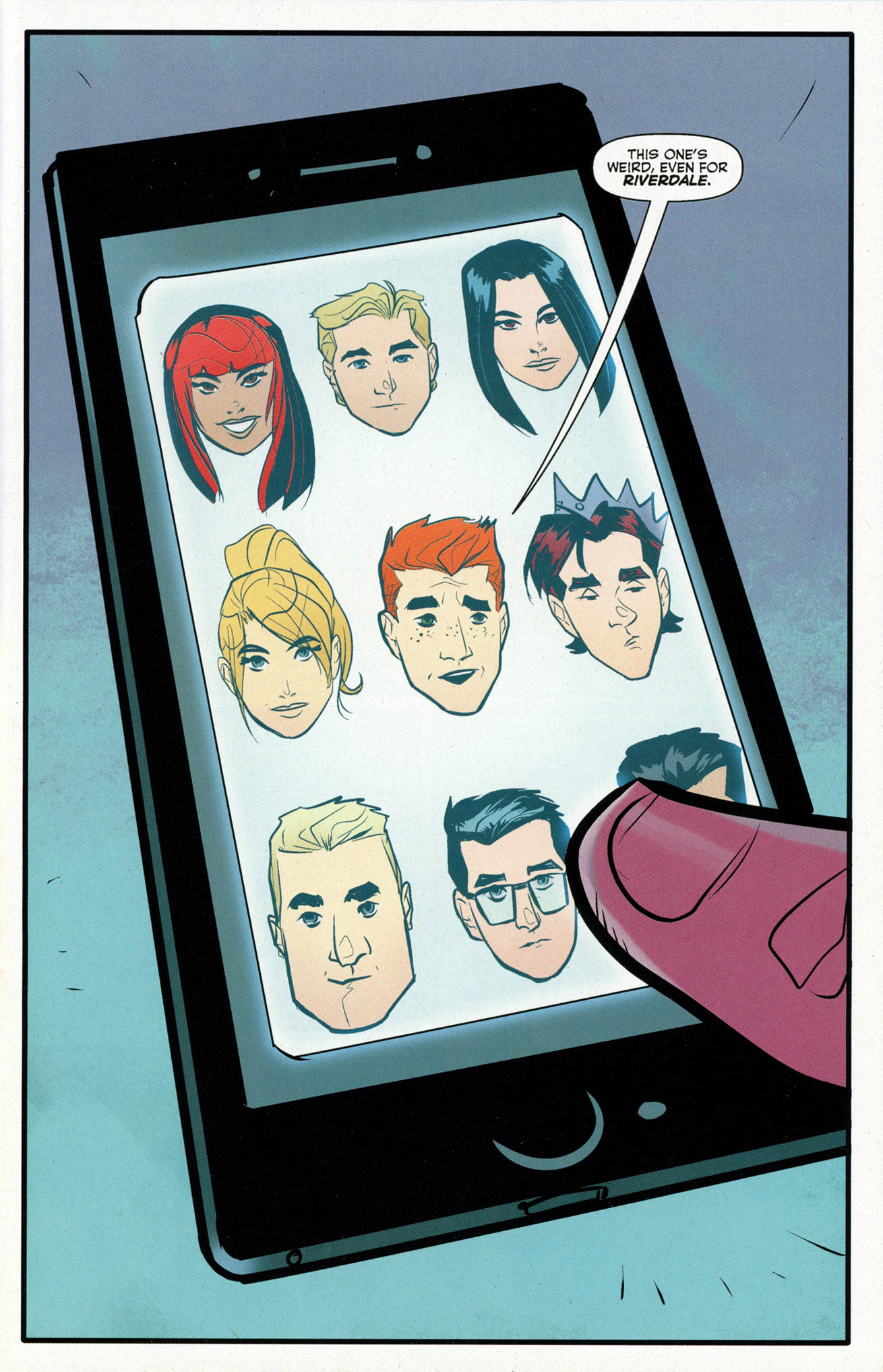 Read online Archie (2015) comic -  Issue #16 - 3