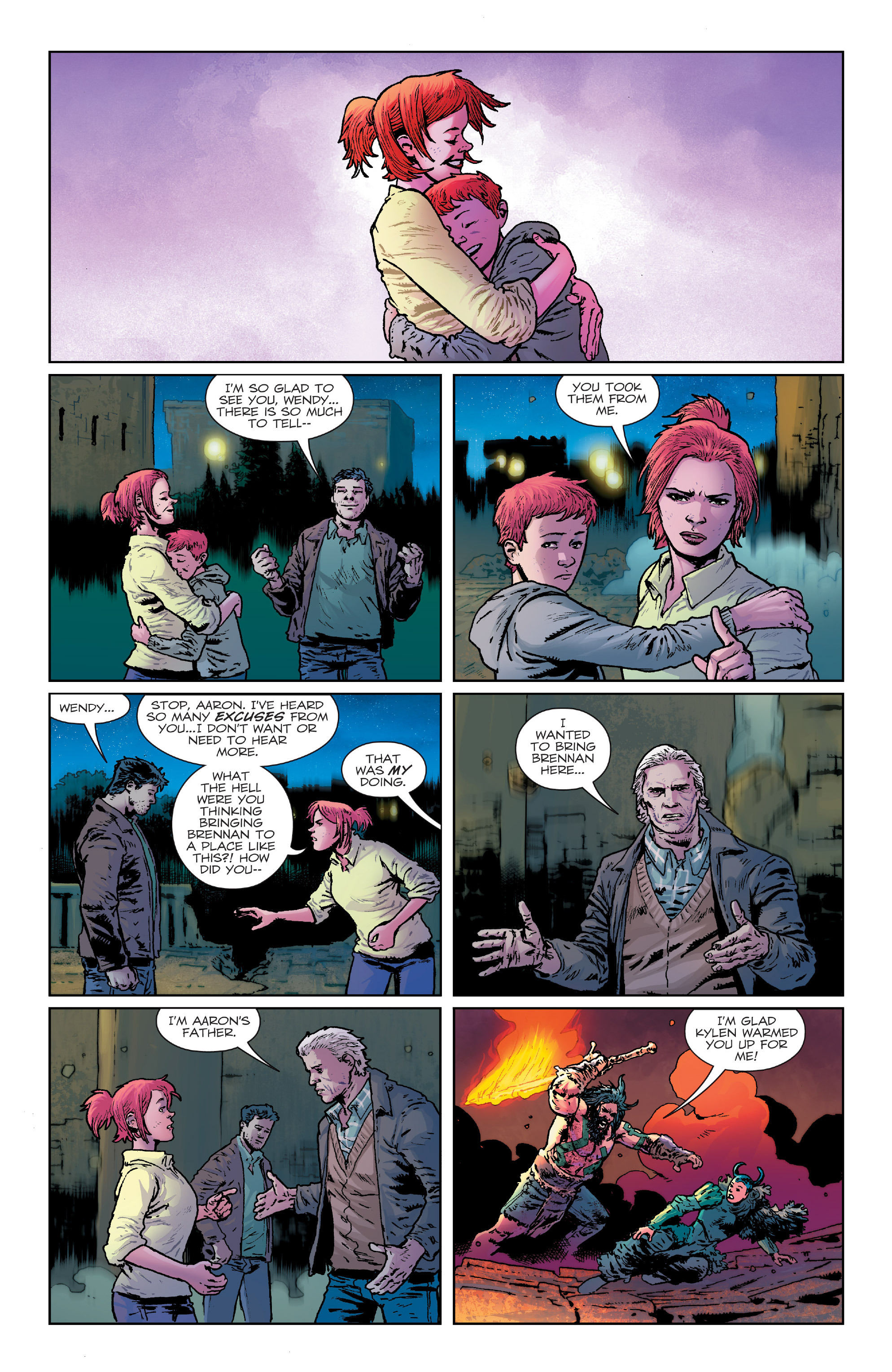 Read online Birthright (2014) comic -  Issue #24 - 11