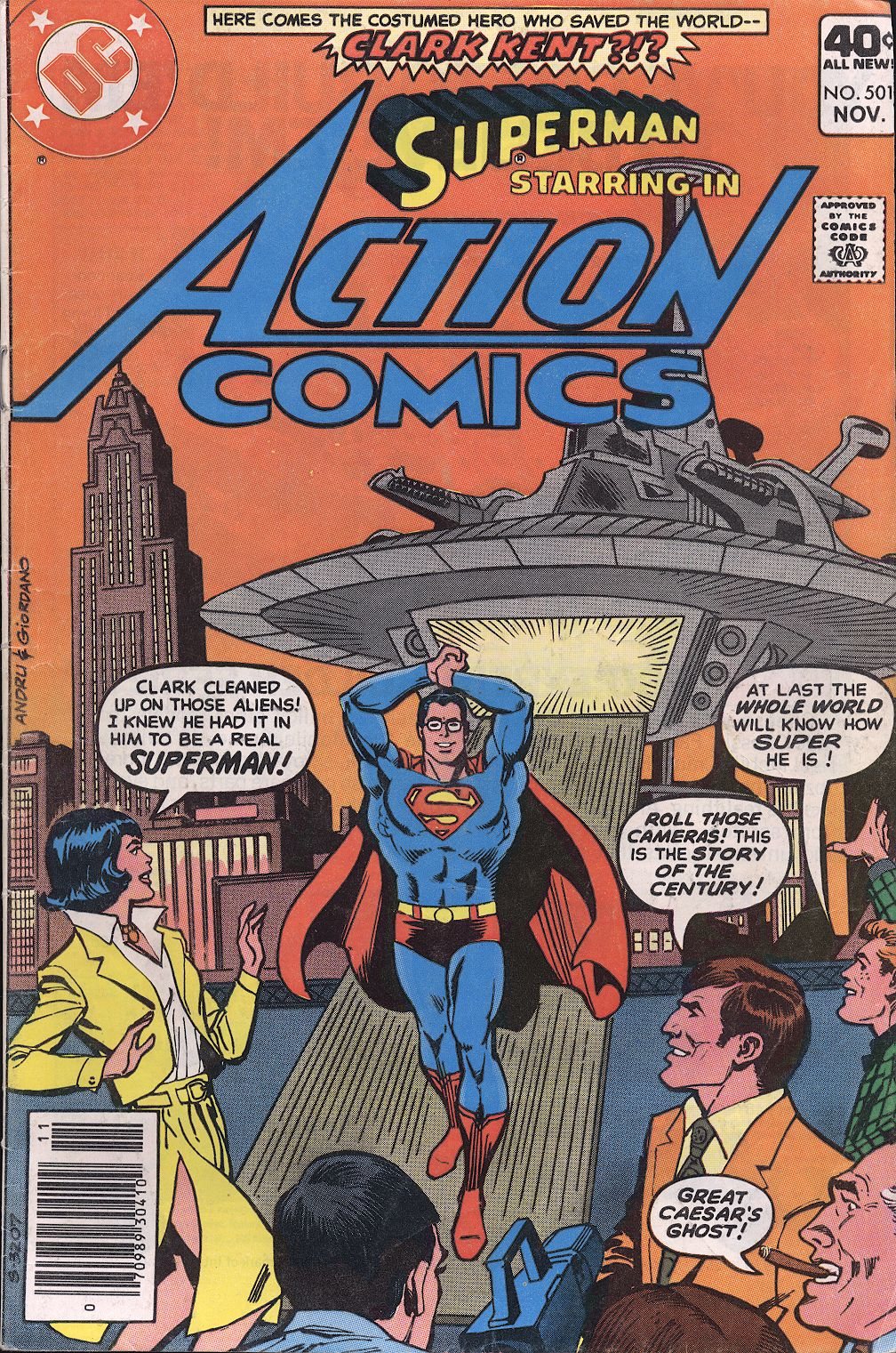Read online Action Comics (1938) comic -  Issue #501 - 1
