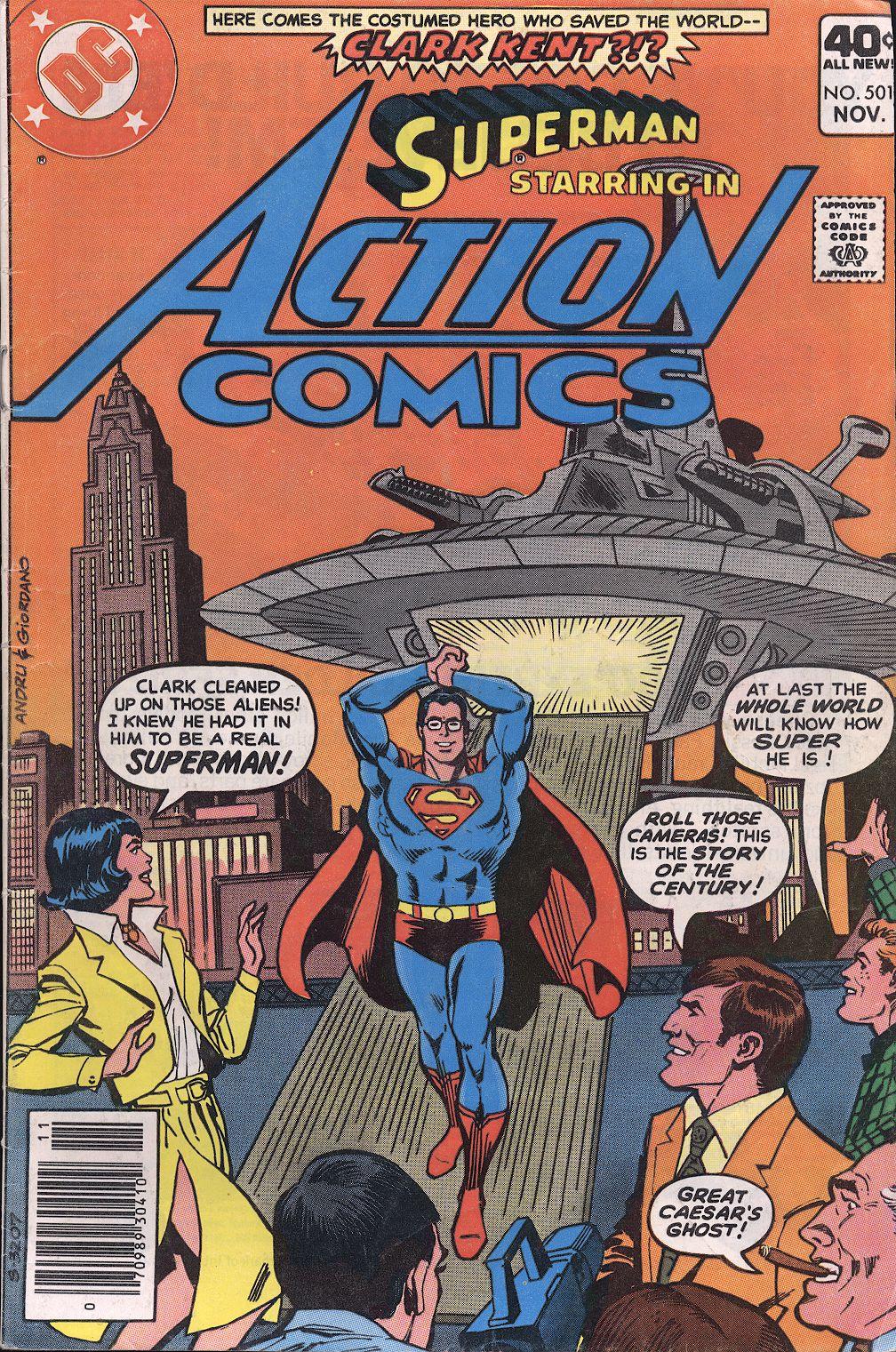 Action Comics (1938) 501 Page 1
