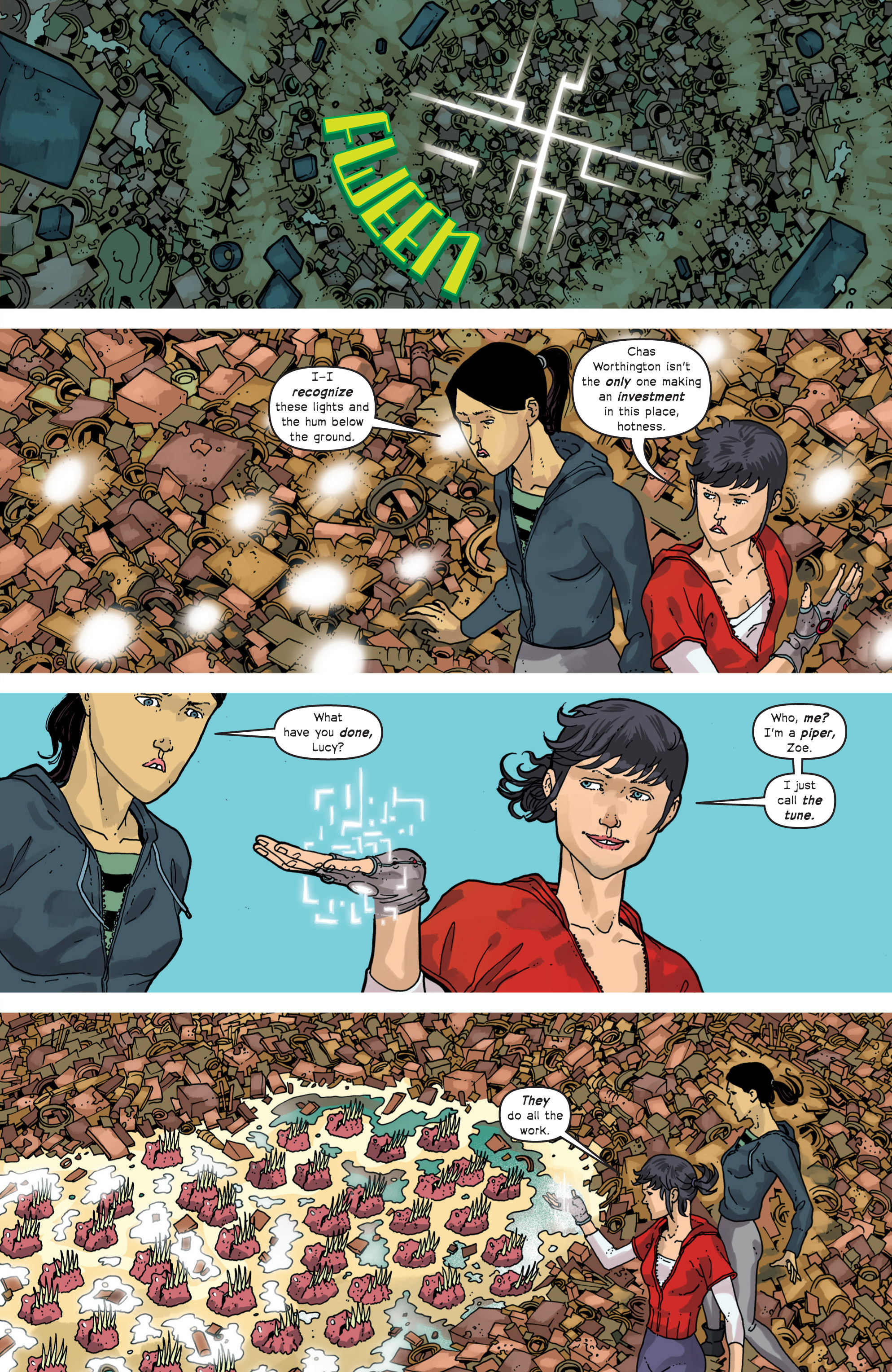 Read online Great Pacific comic -  Issue #11 - 16
