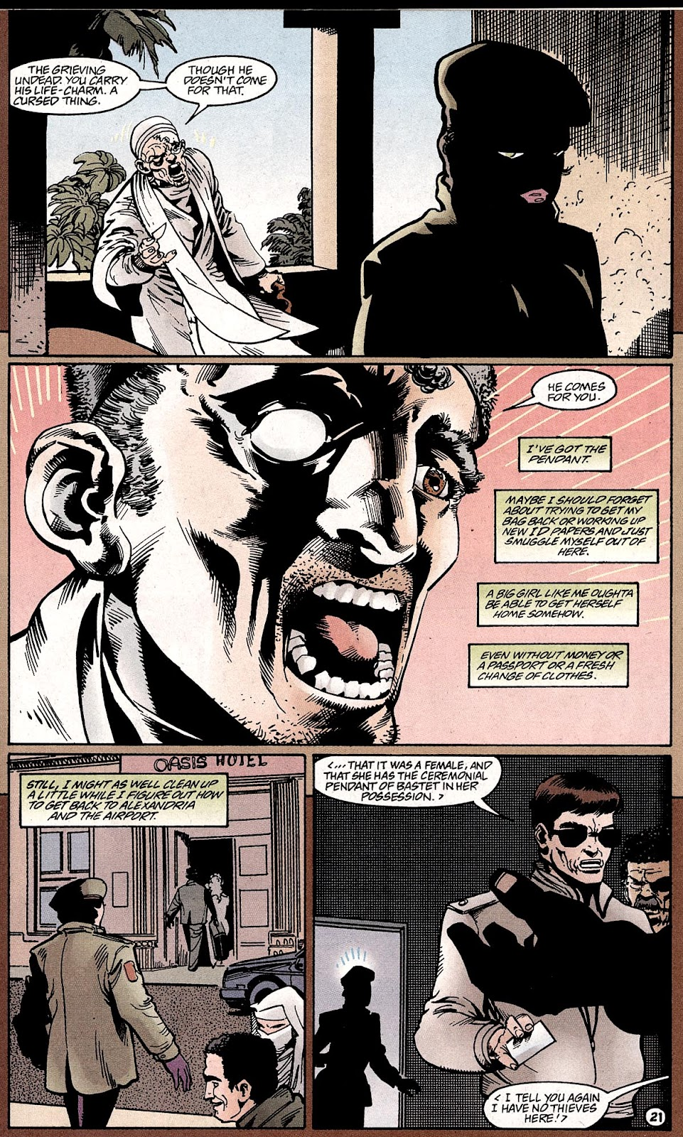 Catwoman (1993) Annual 4 #4 - English 23